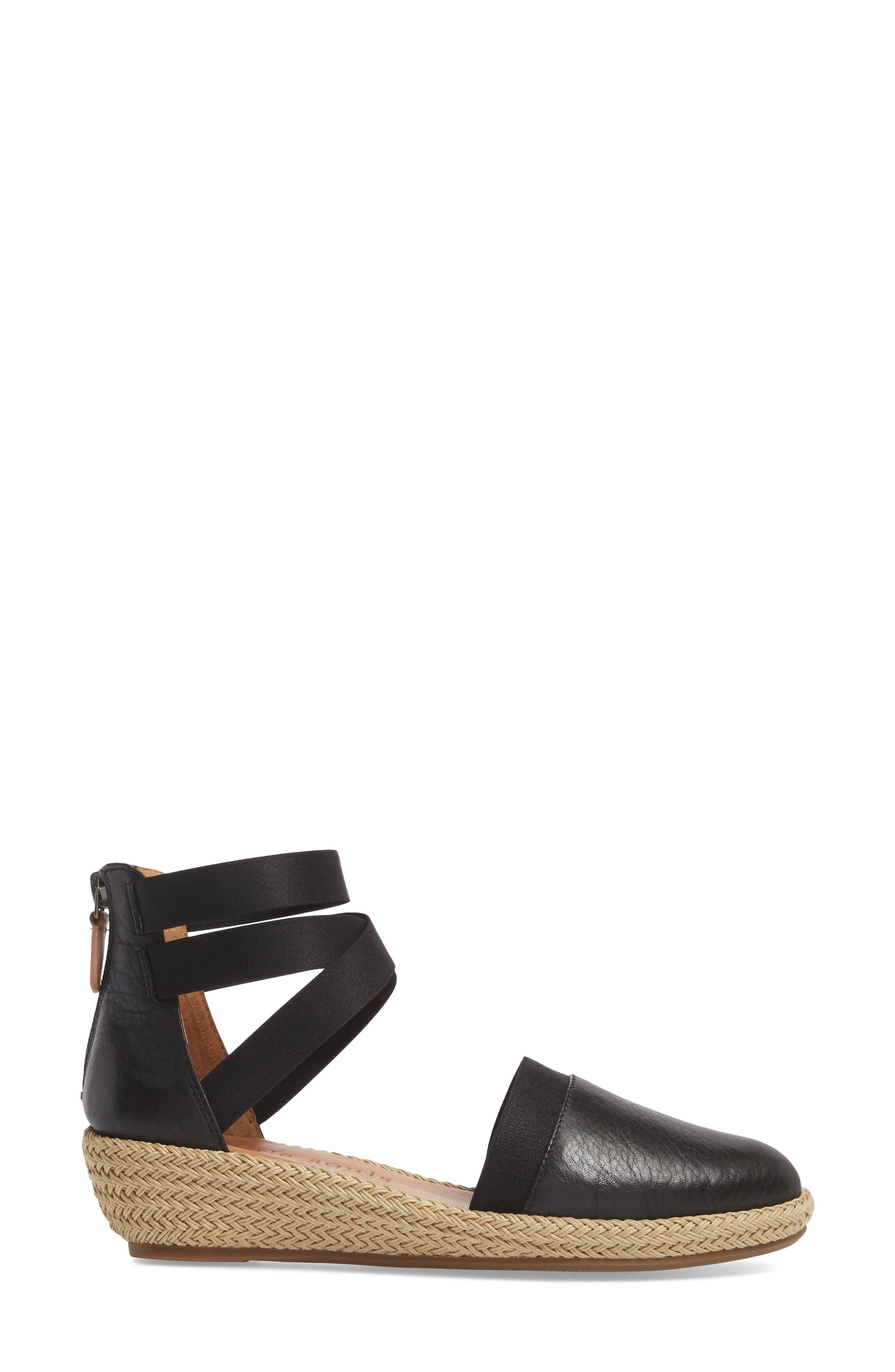 by Kenneth Cole Beth Espadrille Sandal,                             Alternate thumbnail 3, color,                             001