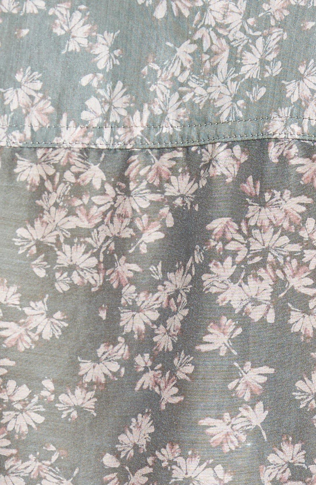 Cotton & Silk Shirt,                             Alternate thumbnail 98, color,