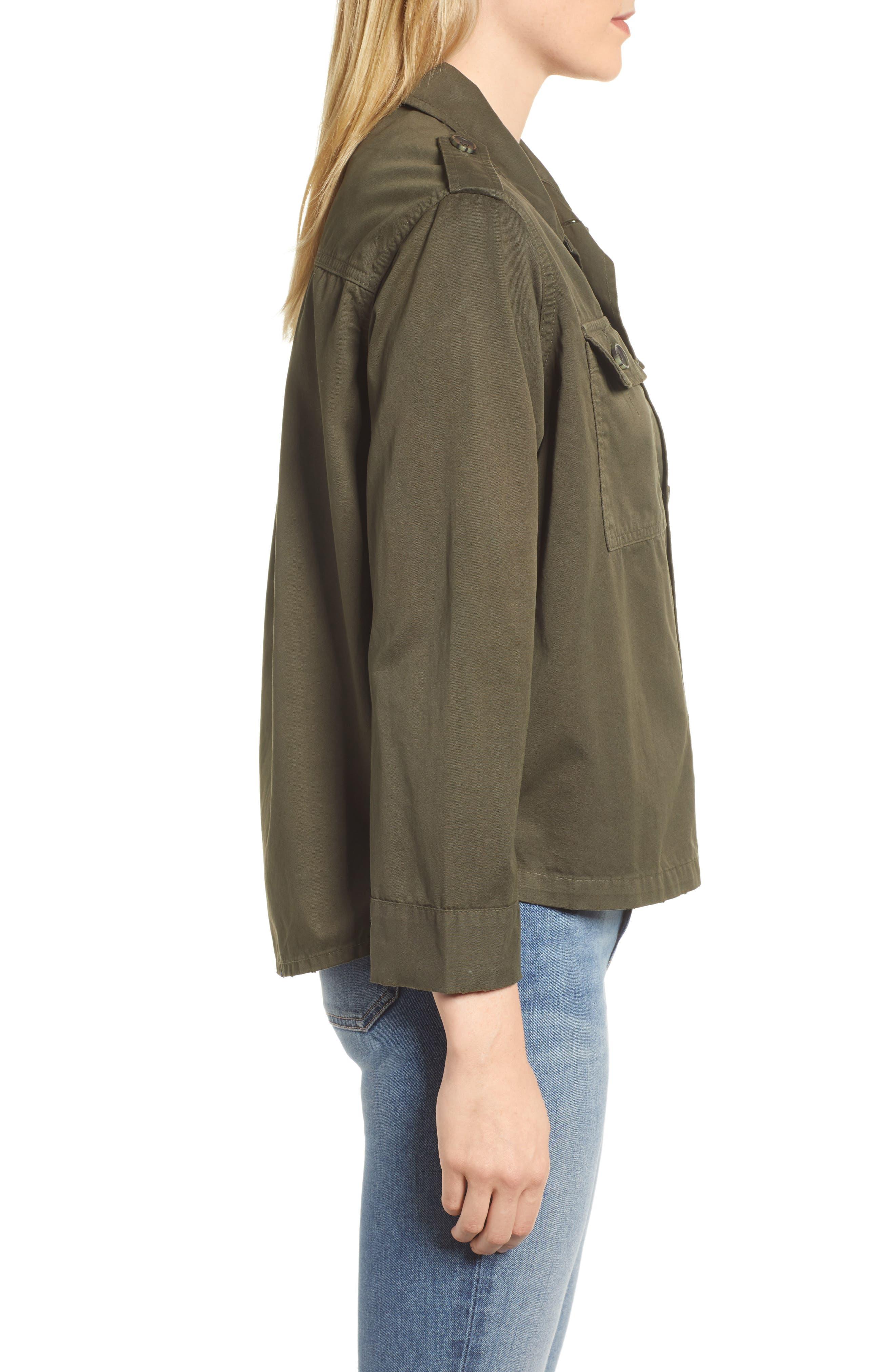 Workwear Cotton Jacket,                             Alternate thumbnail 3, color,                             301