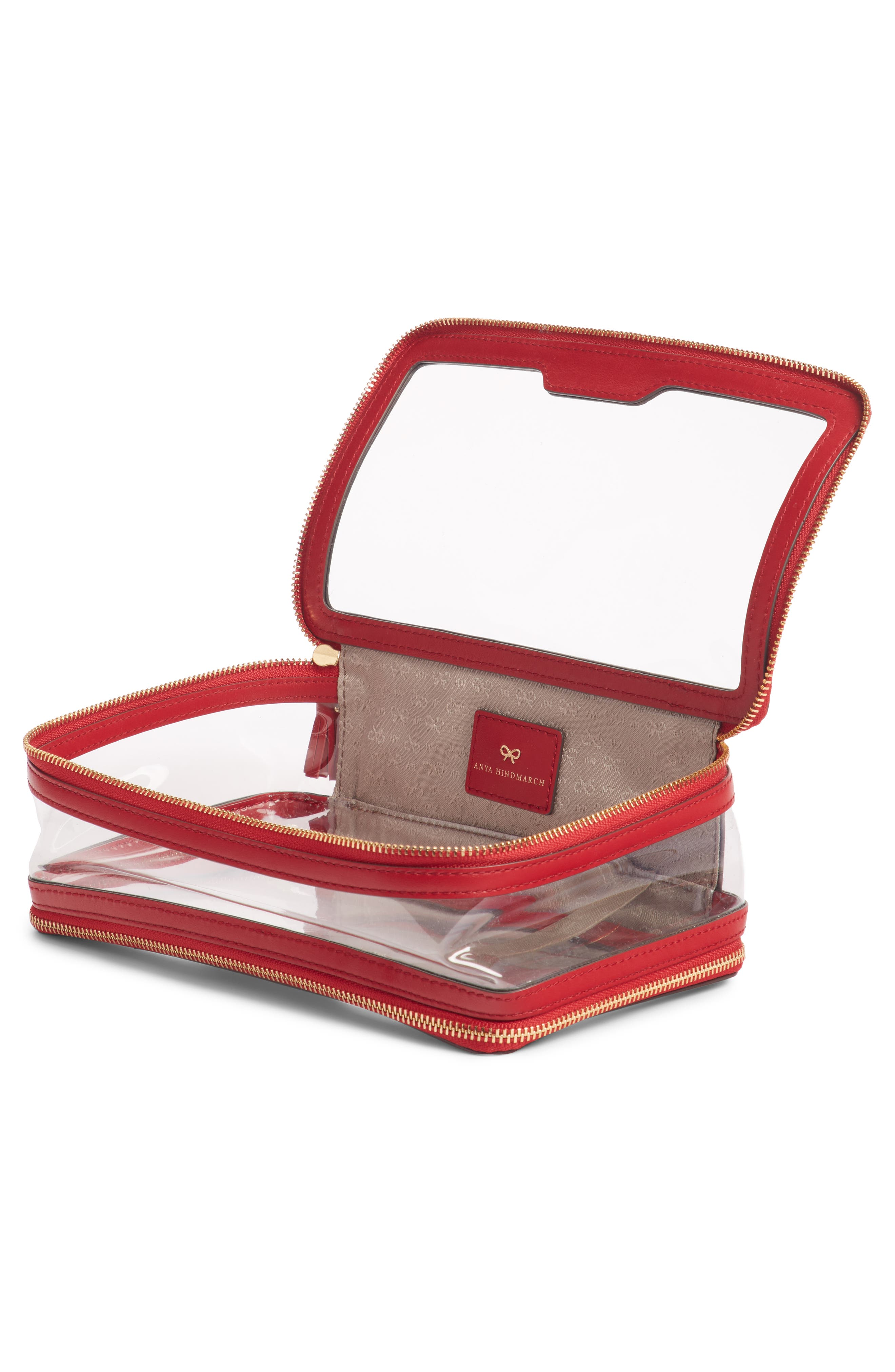 Inflight Clear Cosmetics Case,                             Alternate thumbnail 2, color,                             600