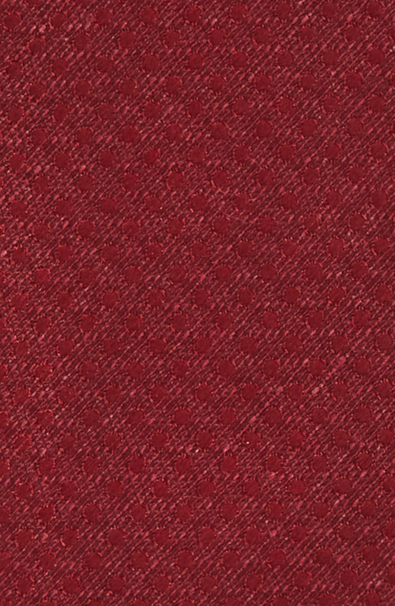 Dotted Spin Silk & Linen Bow Tie,                             Alternate thumbnail 12, color,