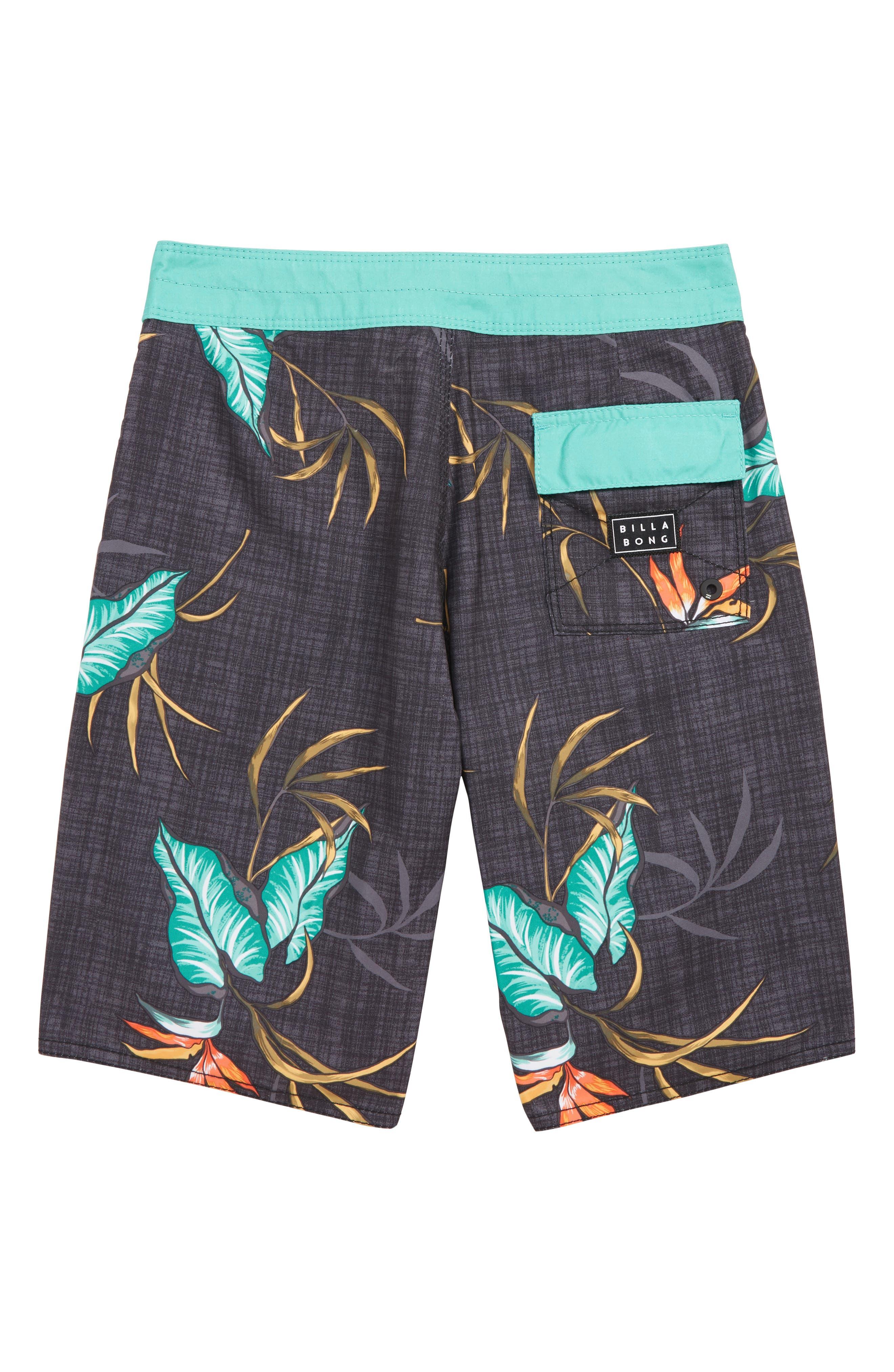 Sundays Board Shorts,                             Alternate thumbnail 2, color,                             BLACK MULTI