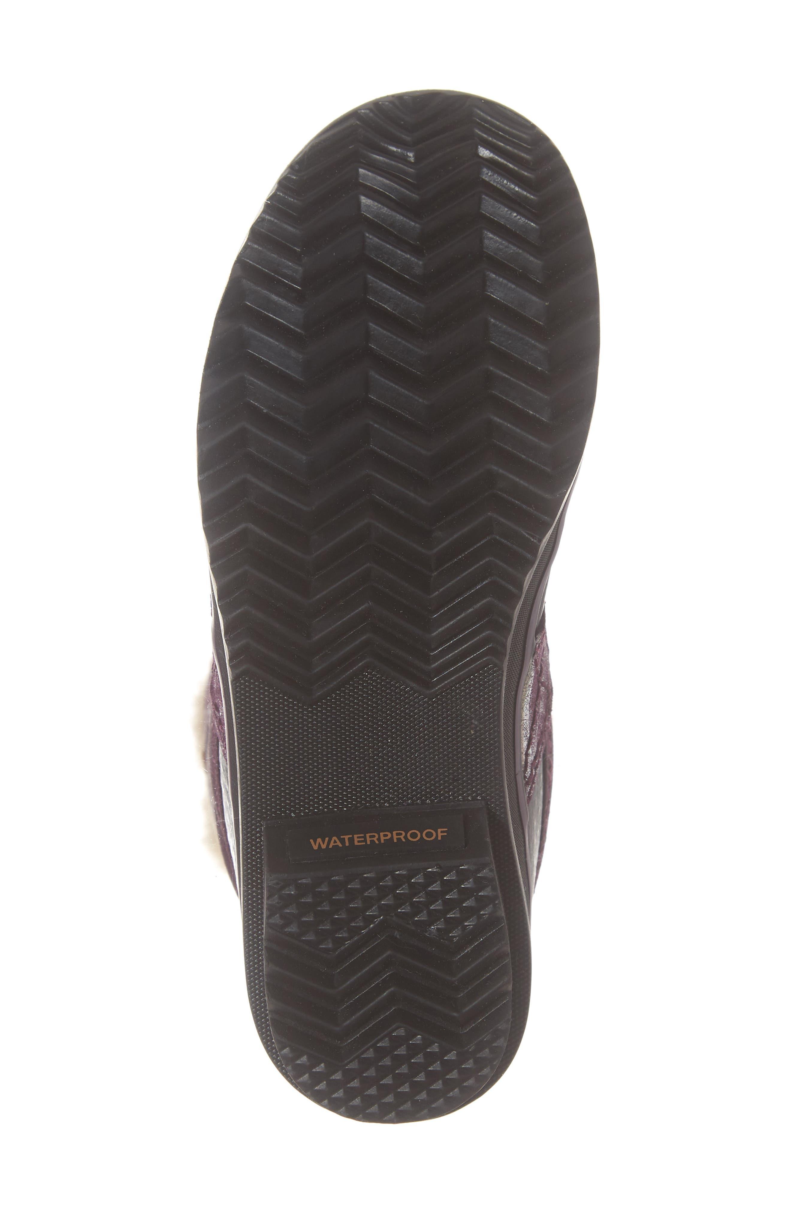 Tofino II Faux Fur Lined Waterproof Boot,                             Alternate thumbnail 6, color,                             562