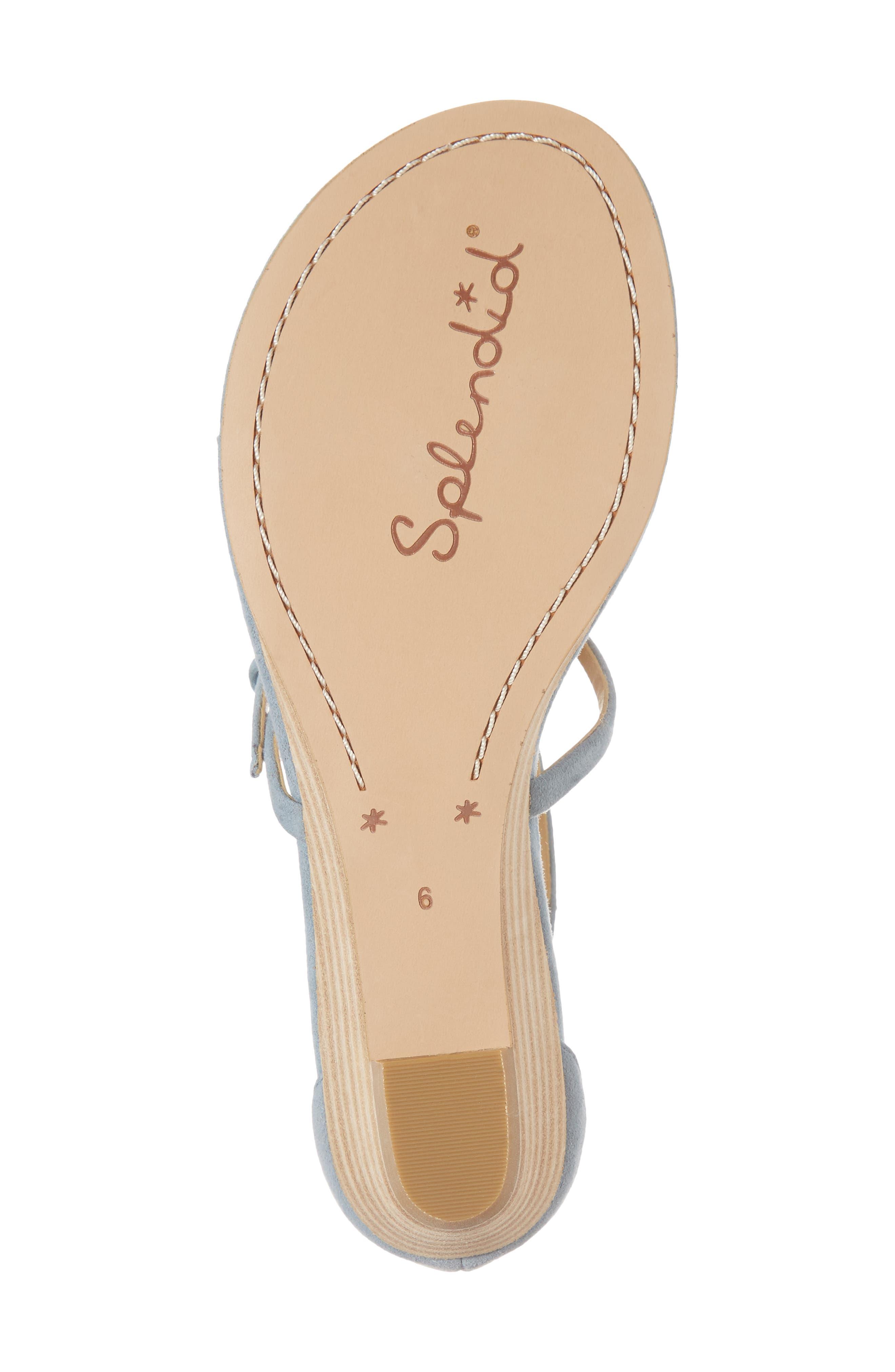 Brooklyn V-Strap Wedge Sandal,                             Alternate thumbnail 24, color,