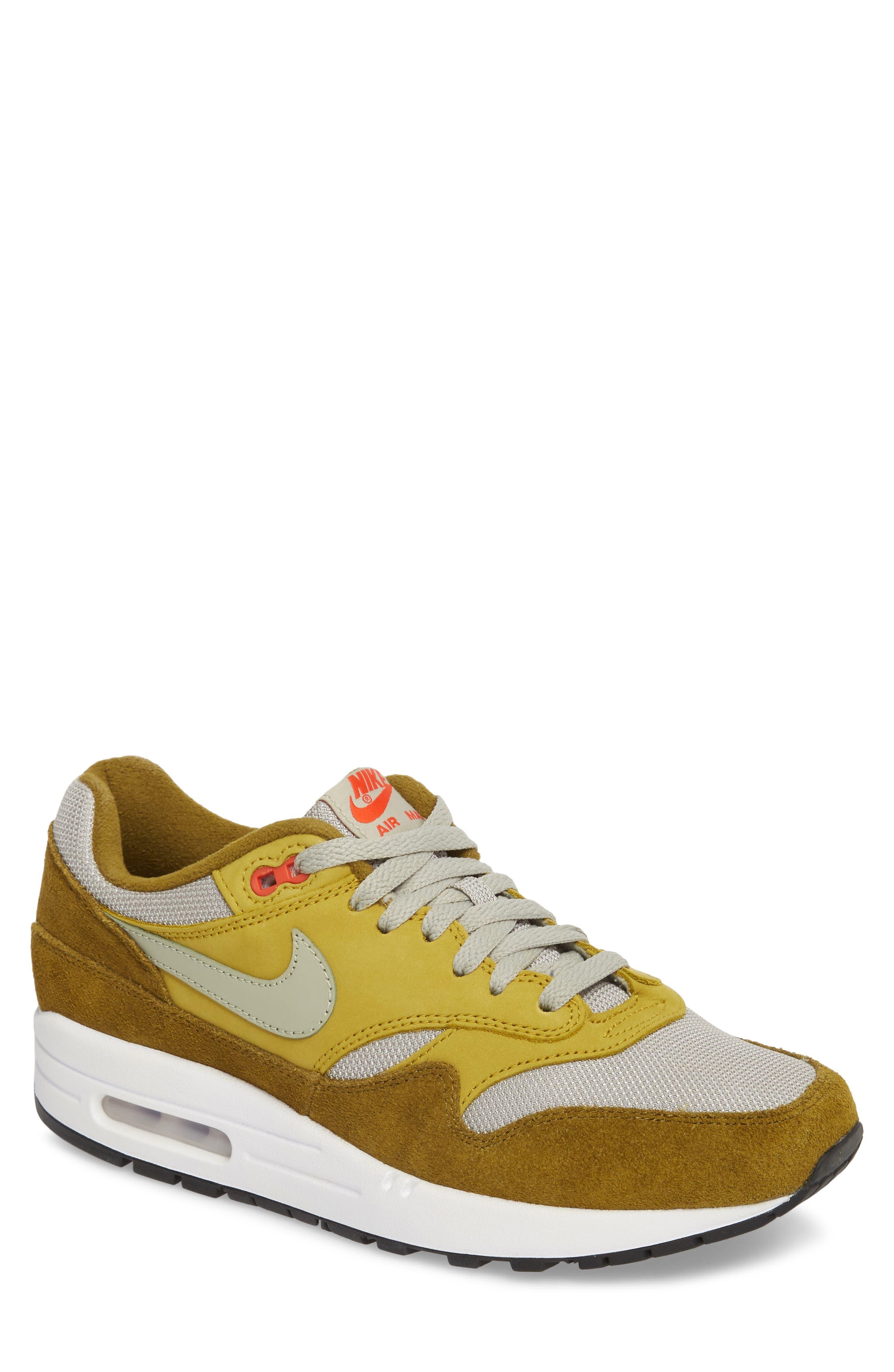 Air Max 1 Premium Retro Sneaker,                             Main thumbnail 1, color,                             300