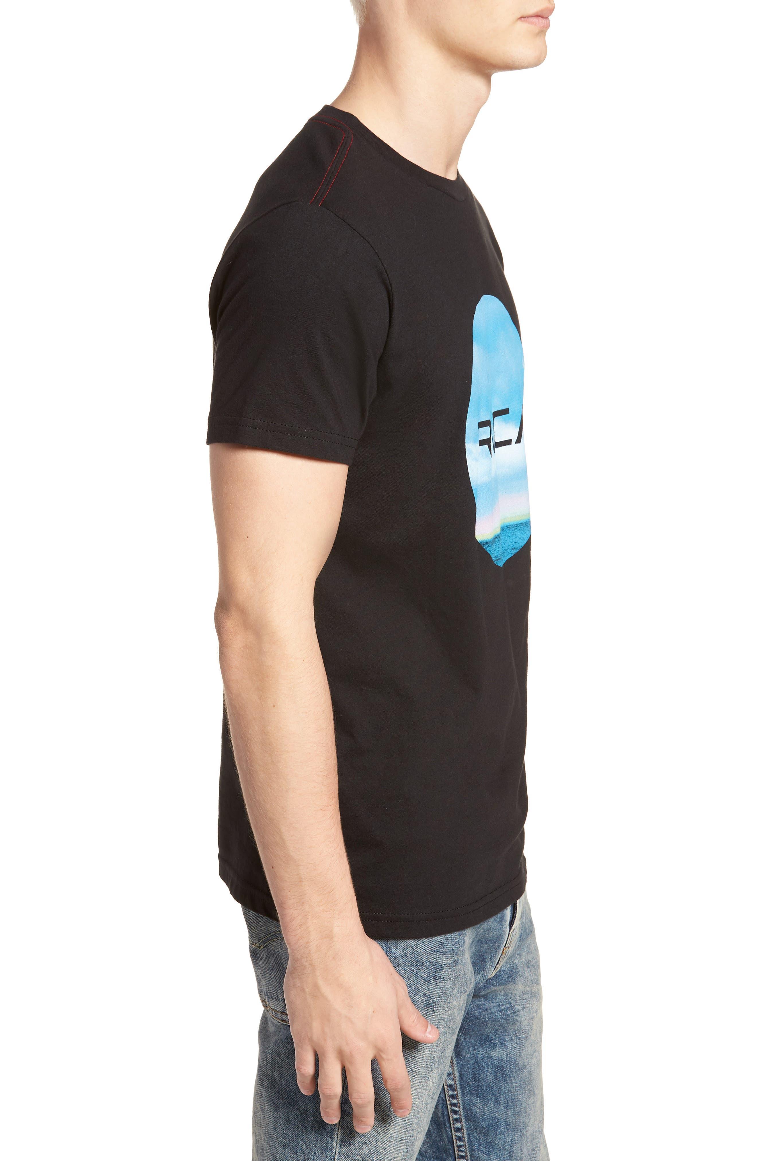 Horizon Motors T-Shirt,                             Alternate thumbnail 3, color,                             001