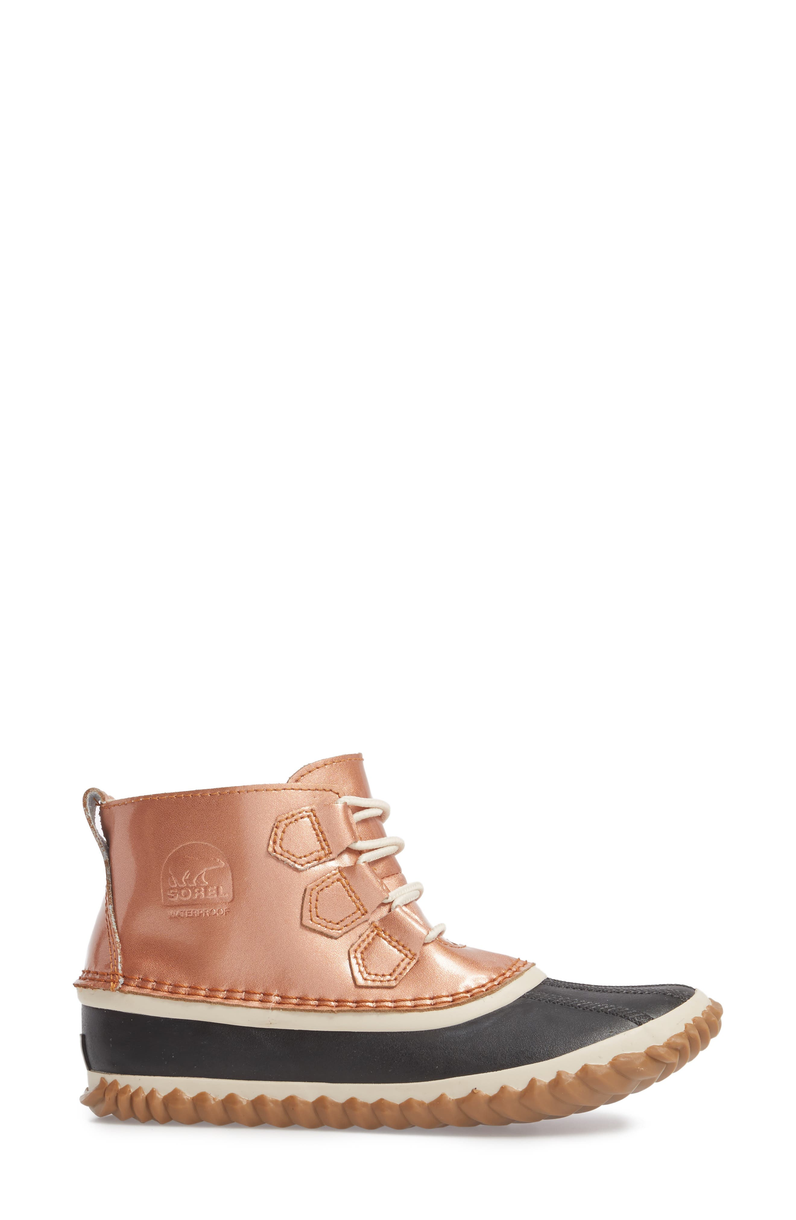 'Out N About' Leather Boot,                             Alternate thumbnail 22, color,