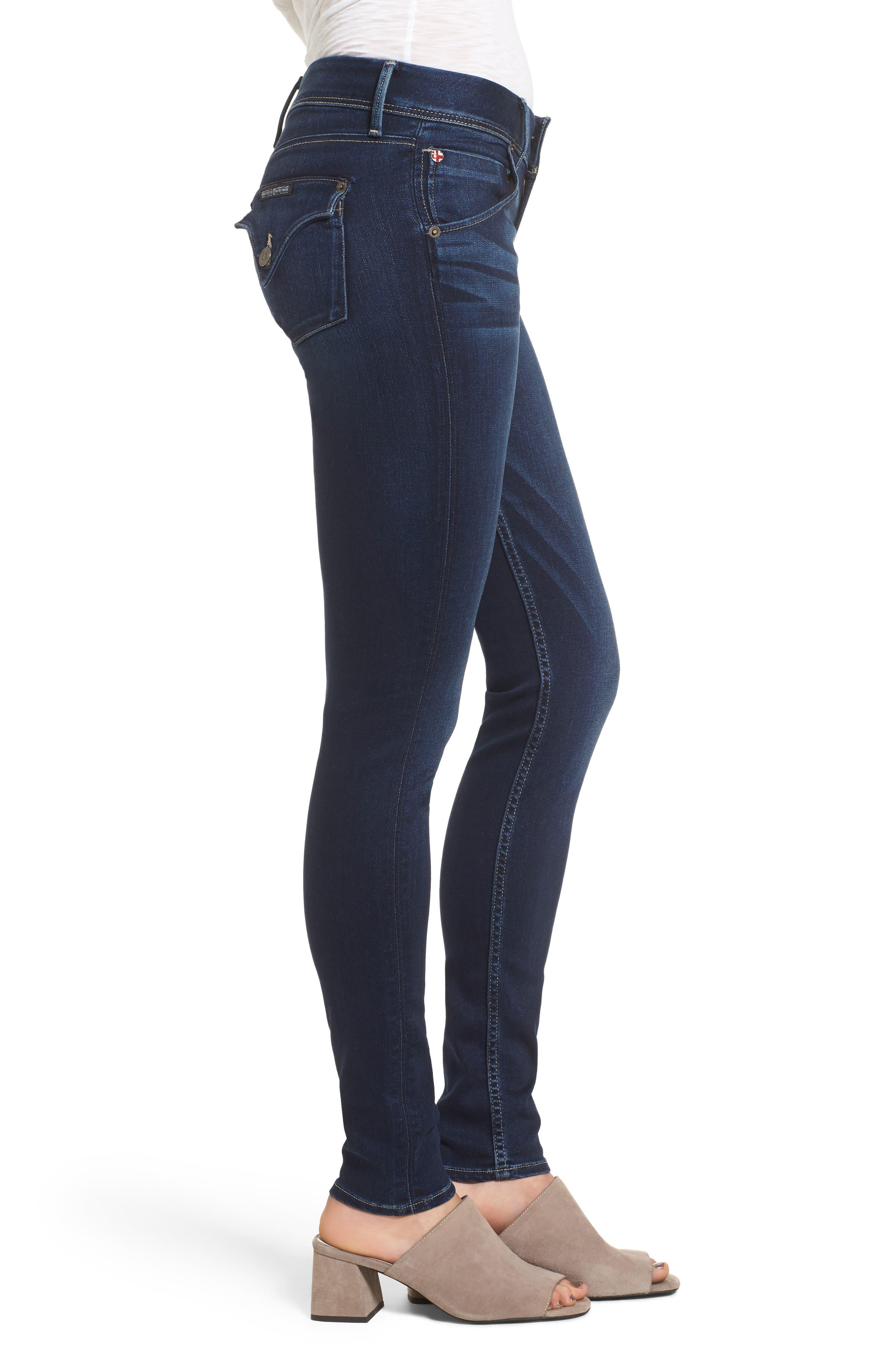 'Collin' Supermodel Skinny Jeans,                             Alternate thumbnail 3, color,                             CREST FALL