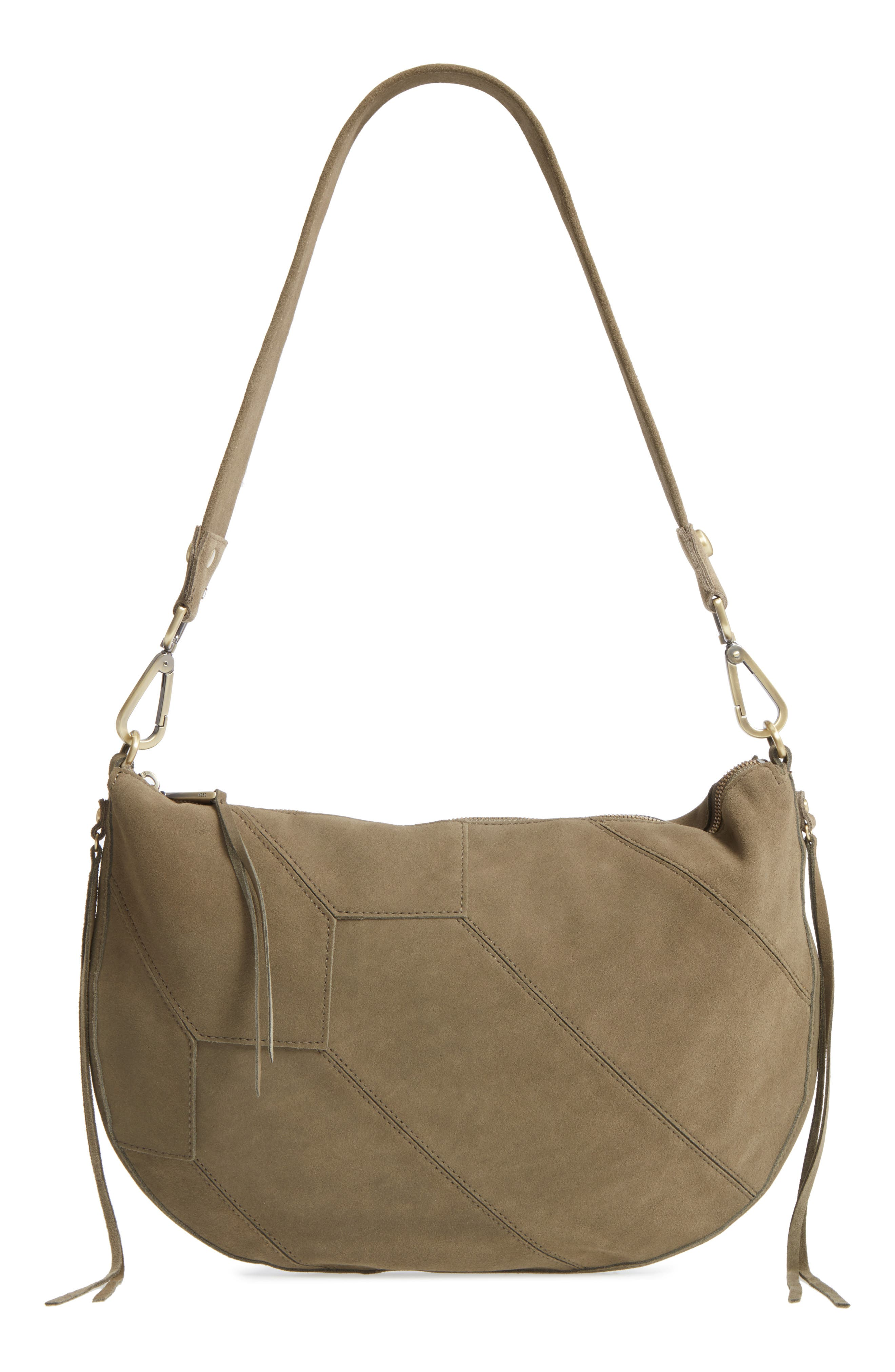 Cisco Leather Hobo Bag,                         Main,                         color, 311