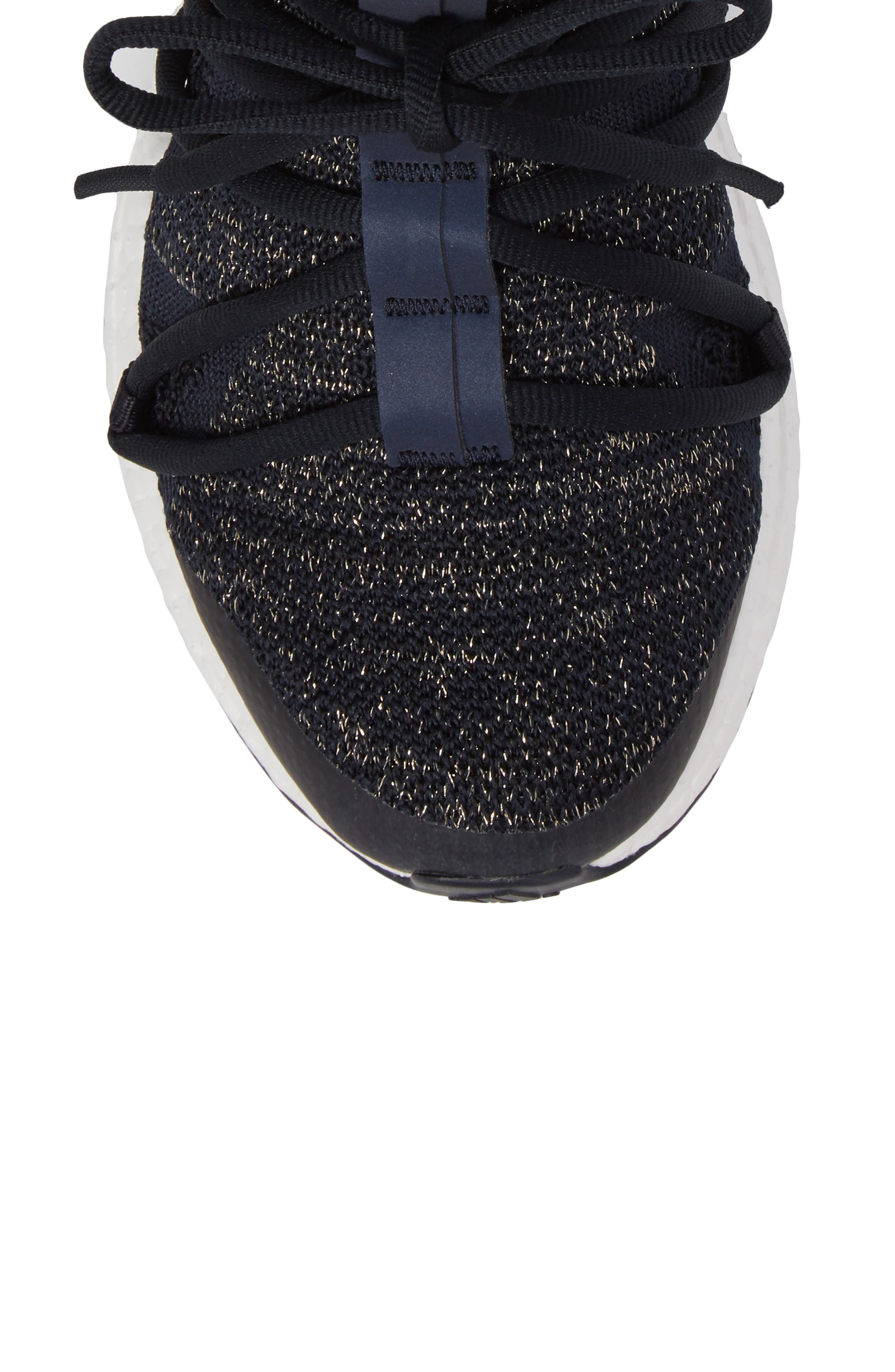 by Stella McCartney UltraBoost X Primeknit Mid Sneaker,                             Alternate thumbnail 5, color,                             400