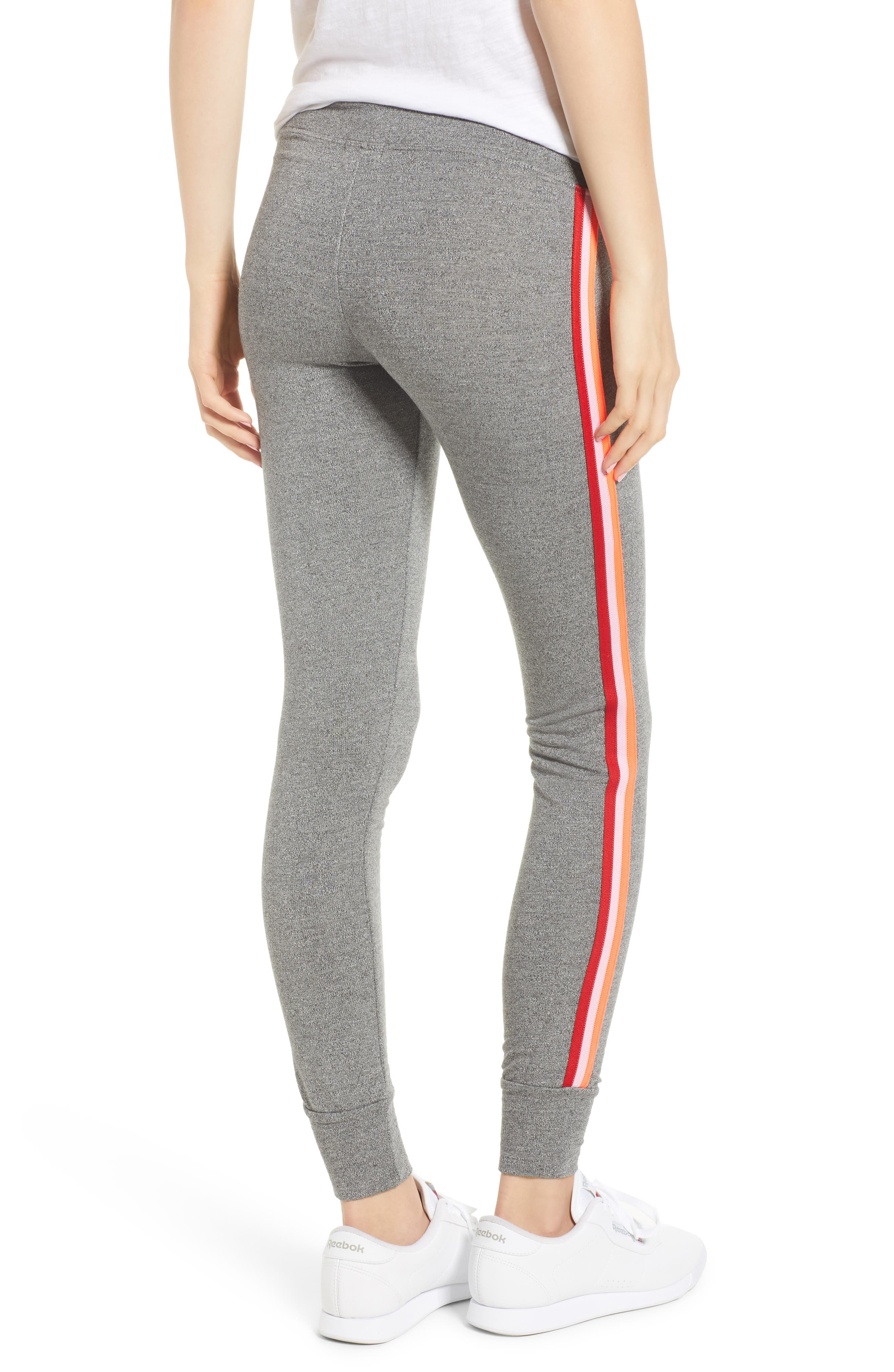 SUNDRY,                             Lace-Up Skinny Sweatpants,                             Alternate thumbnail 2, color,                             039