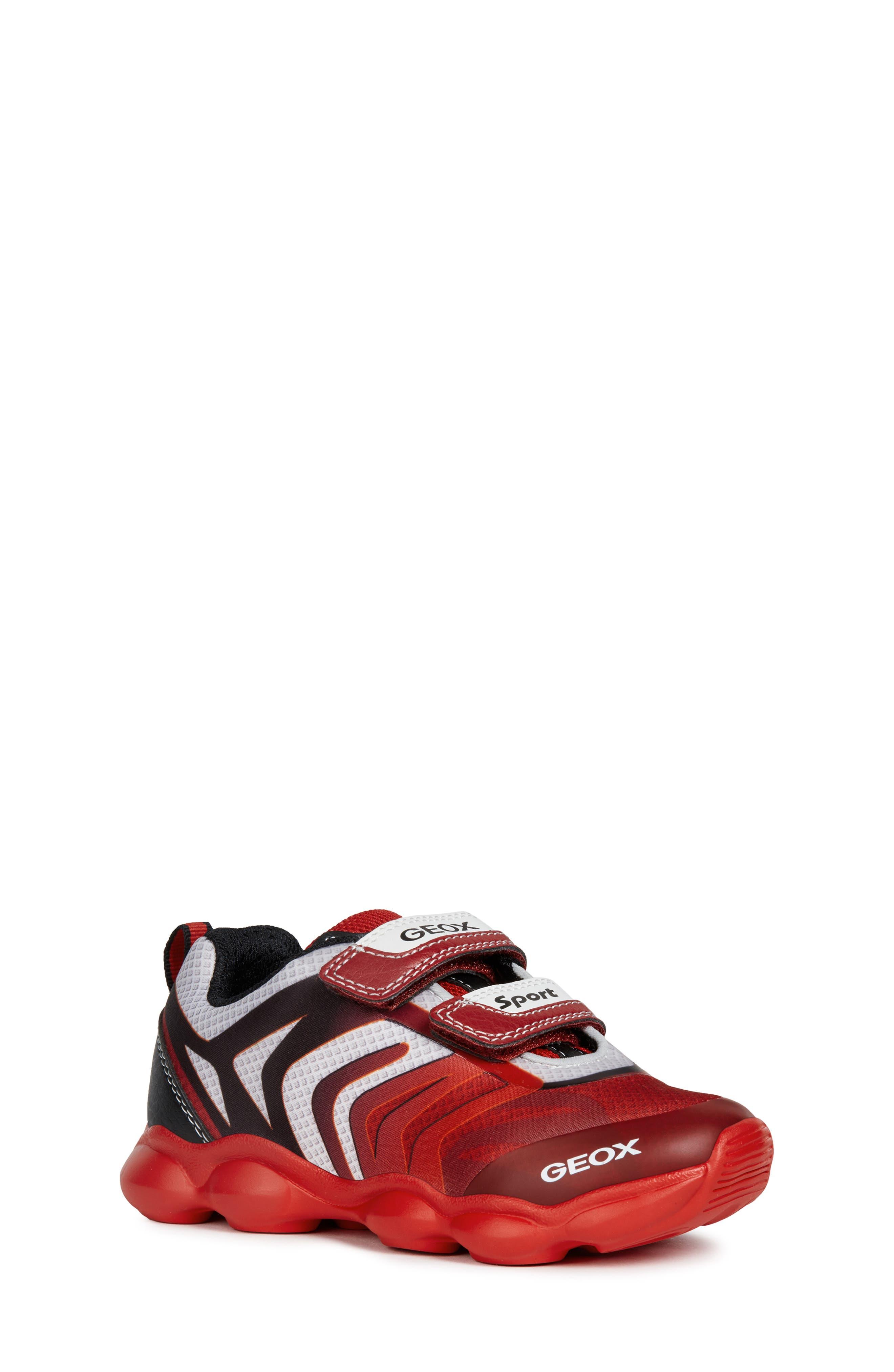 Toddler Boys Geox J Munfrey Sneaker Size 10US  27EU  Red