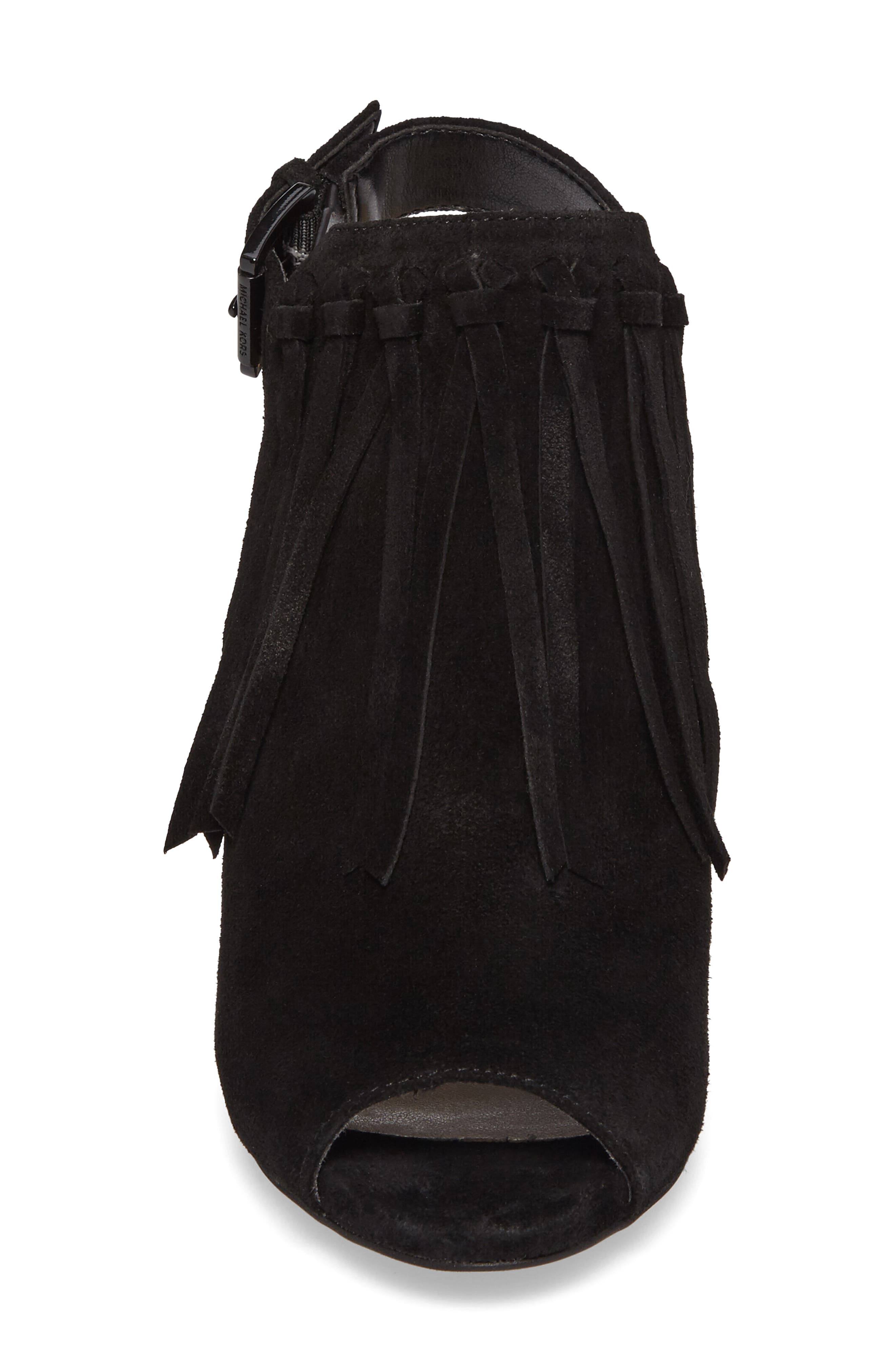 Kassidy Open Toe Bootie,                             Alternate thumbnail 7, color,