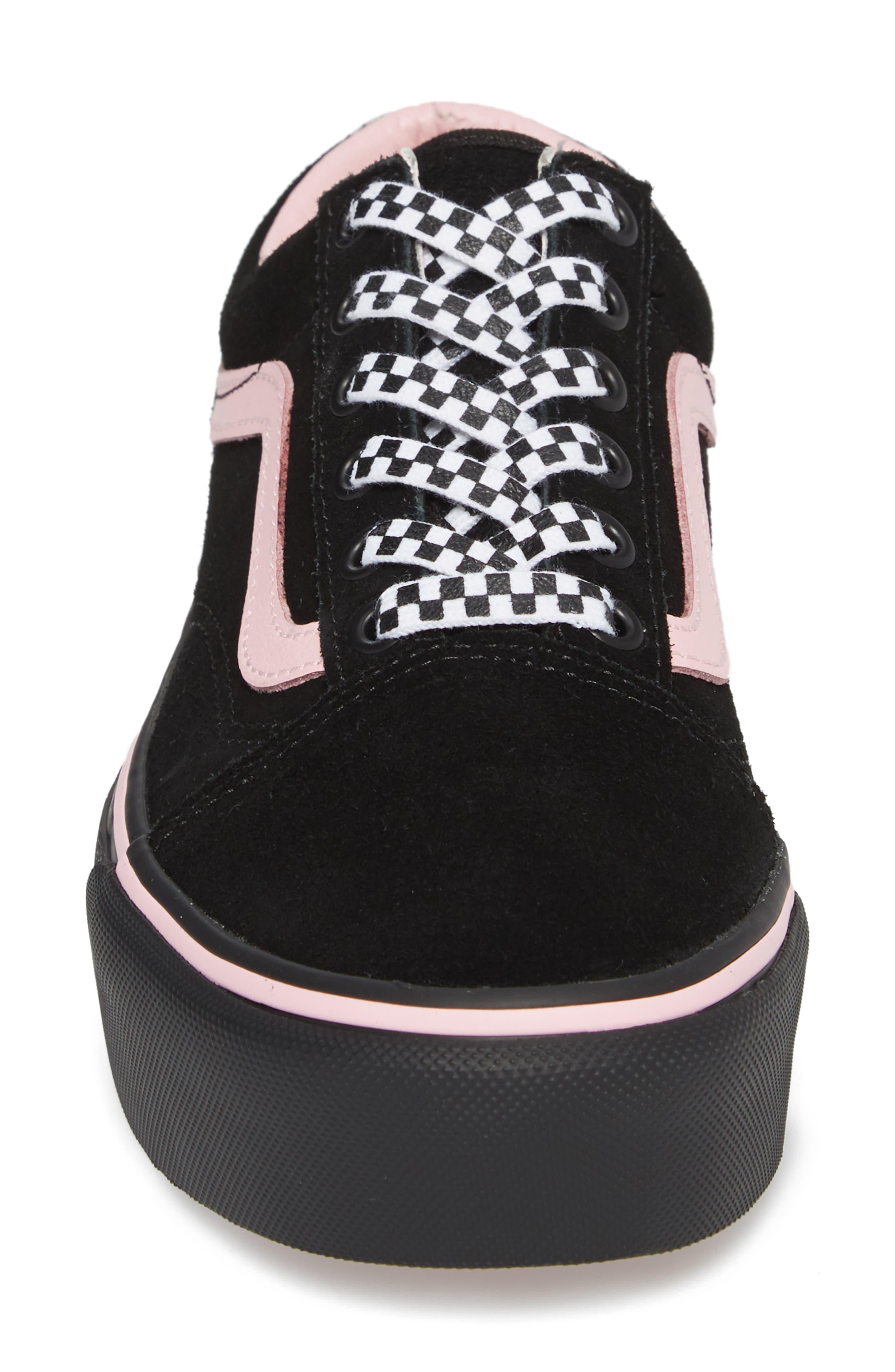 Old Skool Platform Sneaker,                             Alternate thumbnail 18, color,