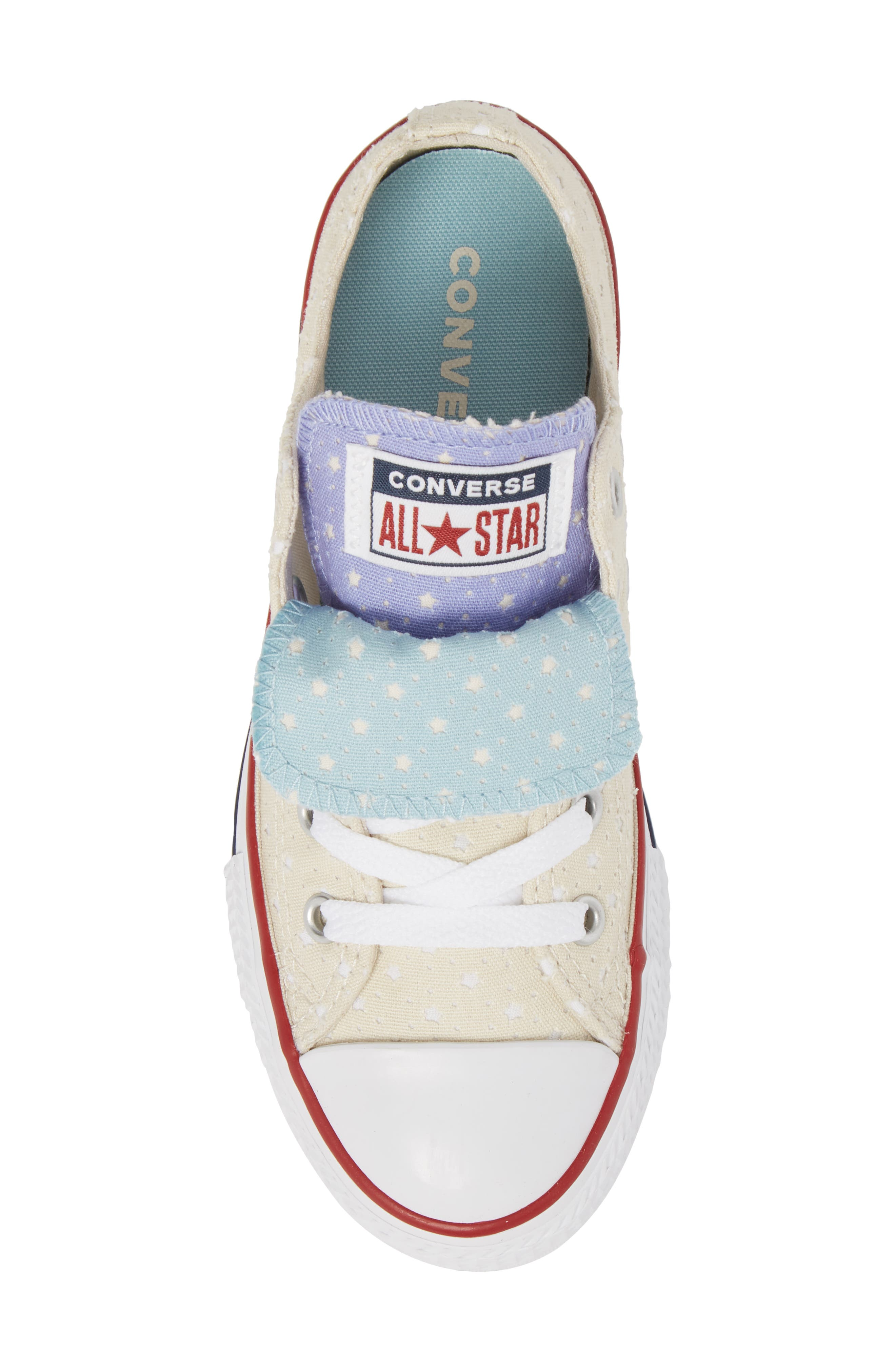 Chuck Taylor<sup>®</sup> All Star<sup>®</sup> Double Tongue Sneaker,                             Alternate thumbnail 15, color,