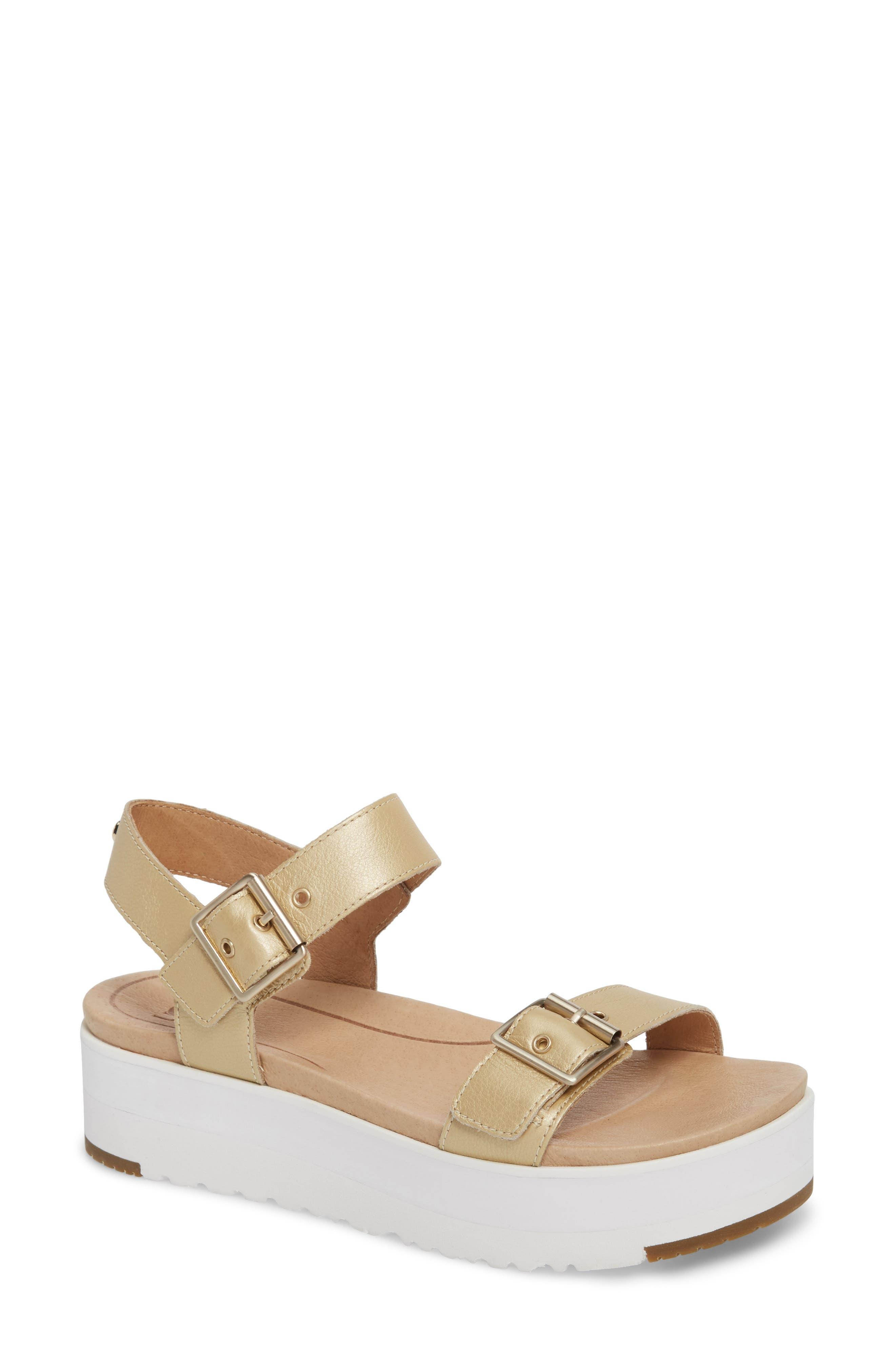 Angie Platform Sandal,                             Main thumbnail 4, color,