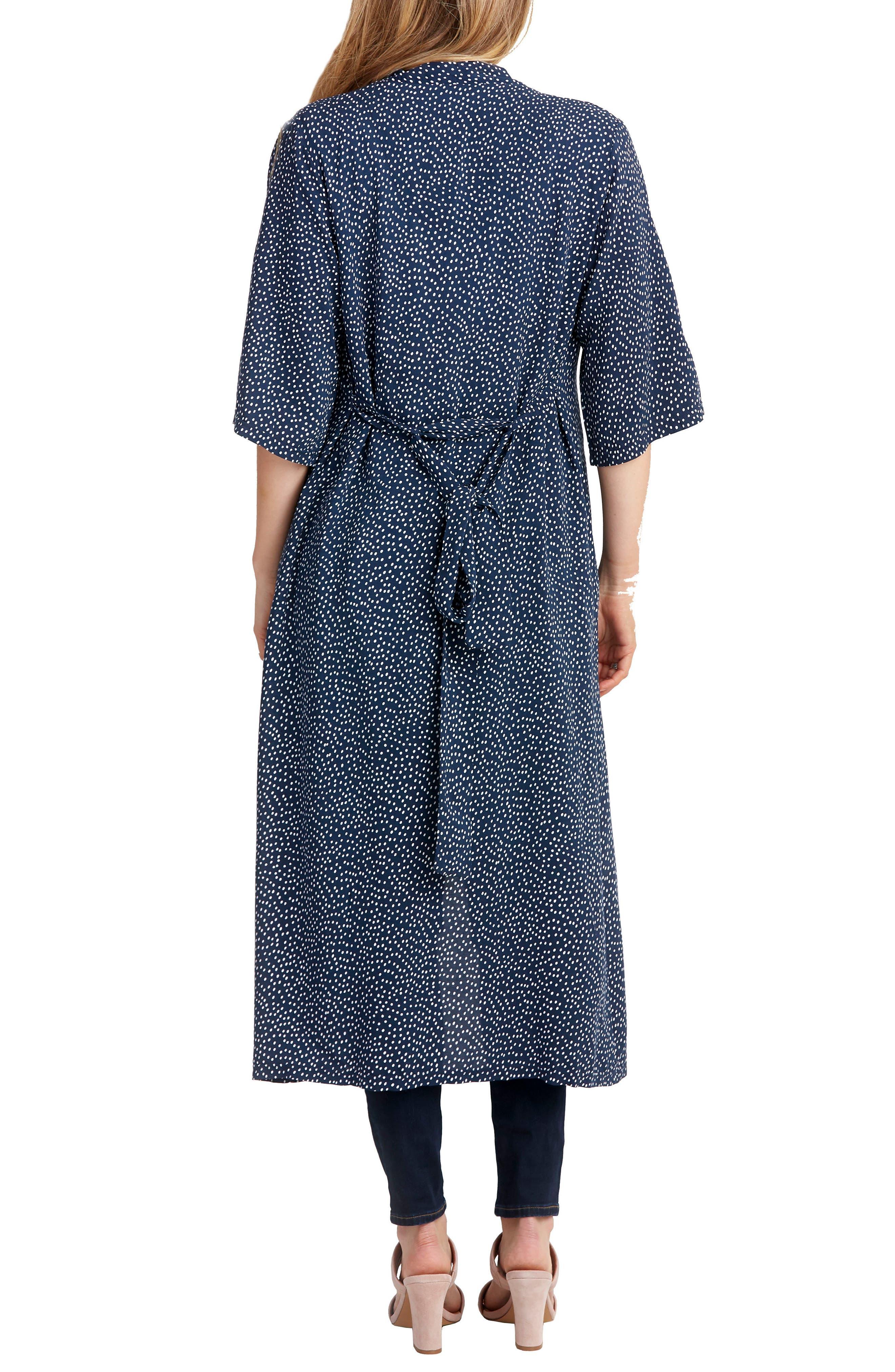Draper Maternity Robe,                             Alternate thumbnail 2, color,                             400