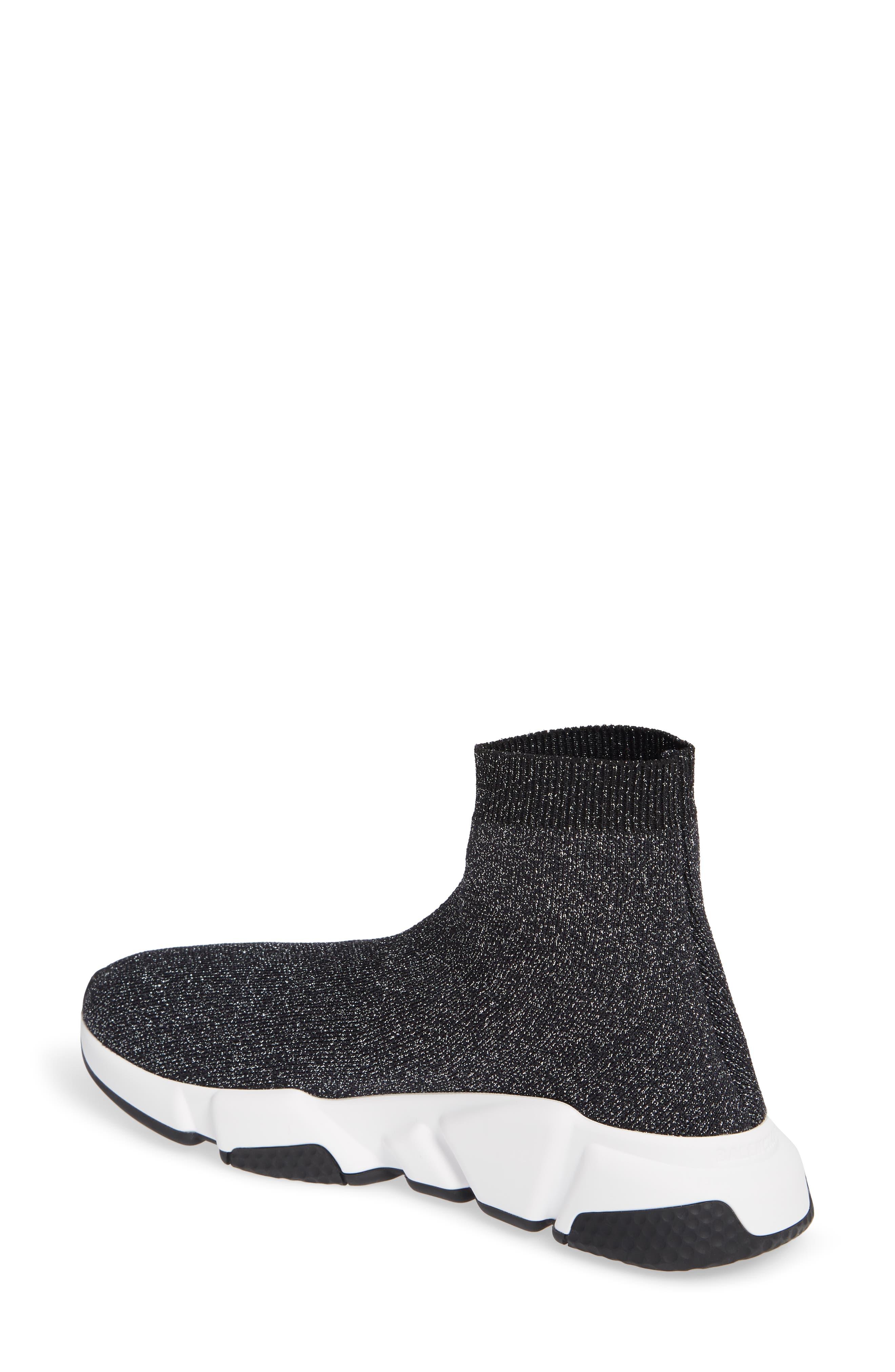 Speed Knit Sneaker,                             Alternate thumbnail 2, color,                             BLACK PEPPER