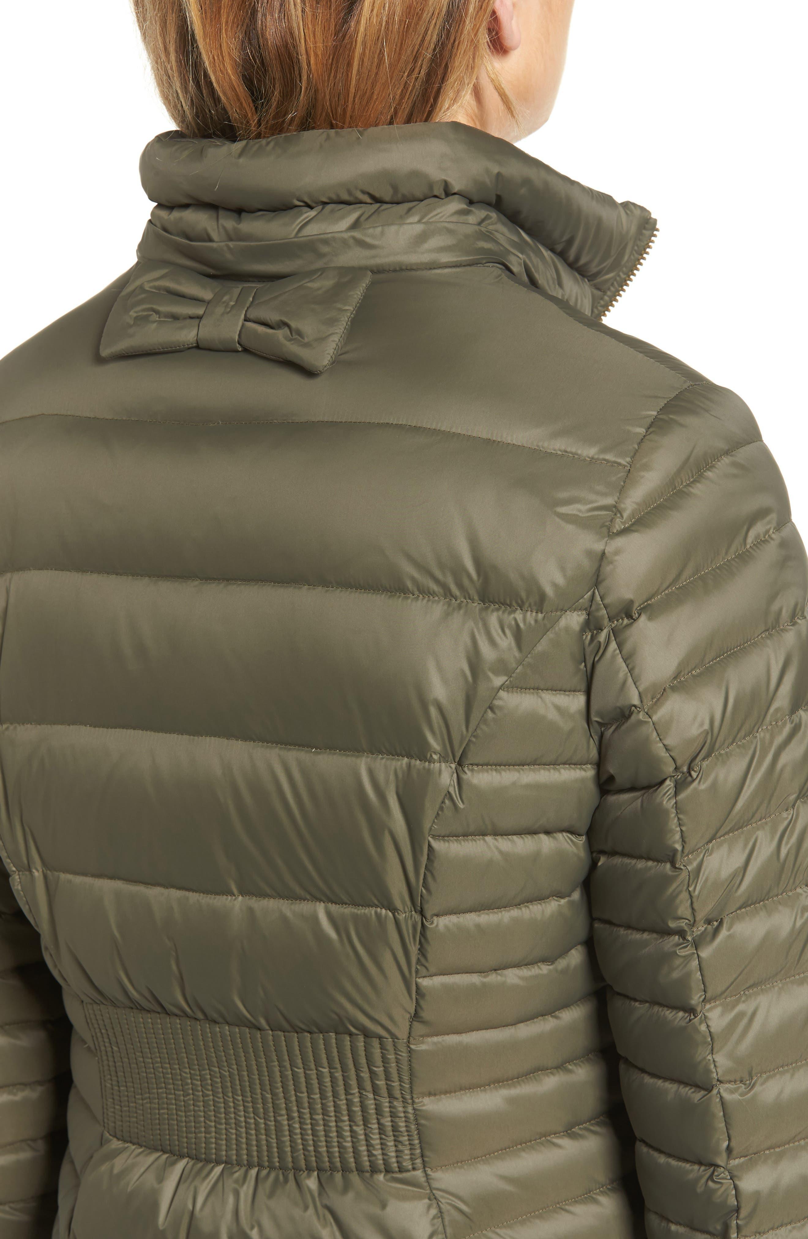 down puffer coat with faux fur trim,                             Alternate thumbnail 11, color,