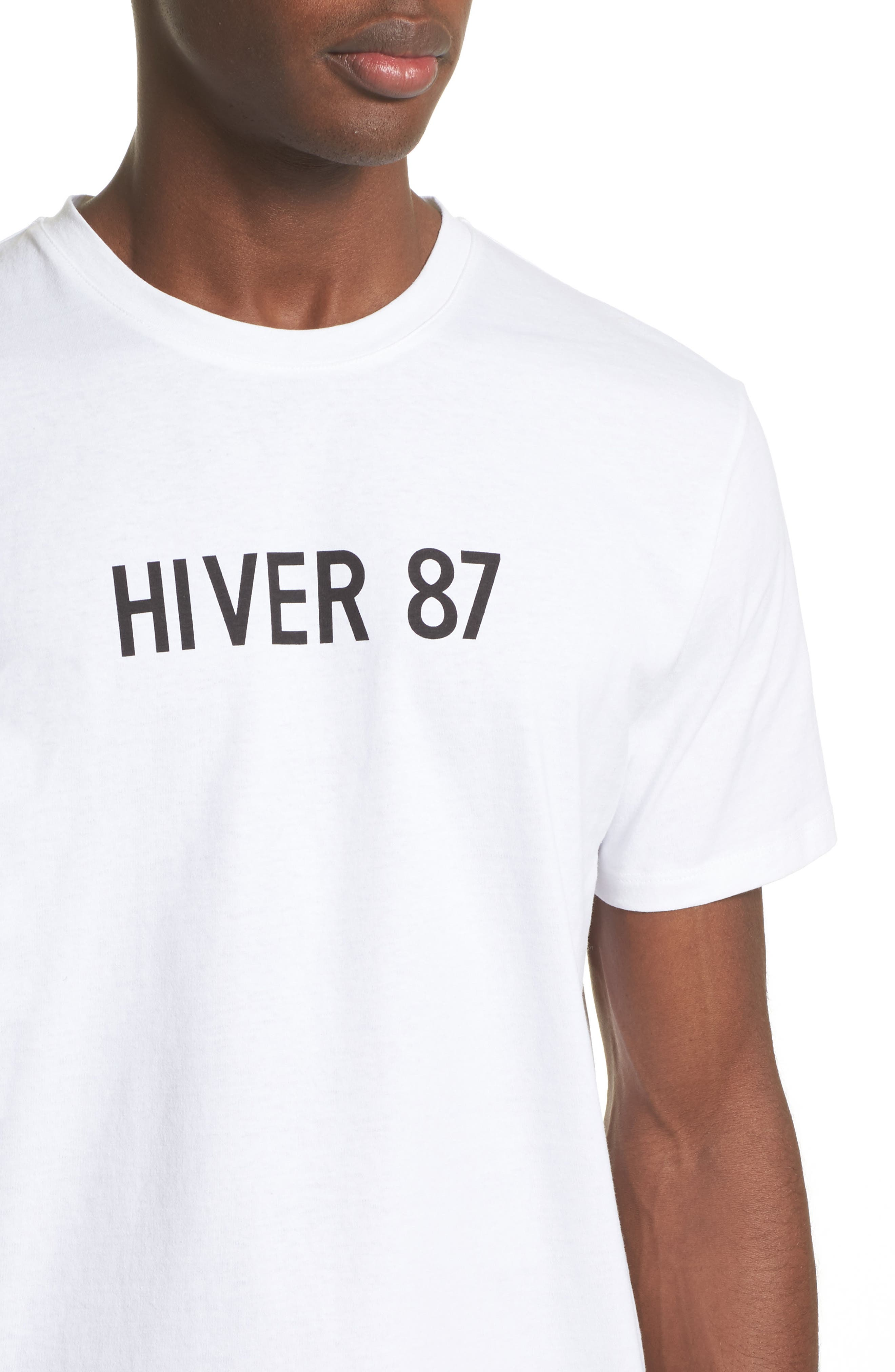 Hiver 87 T-Shirt,                             Alternate thumbnail 4, color,                             100