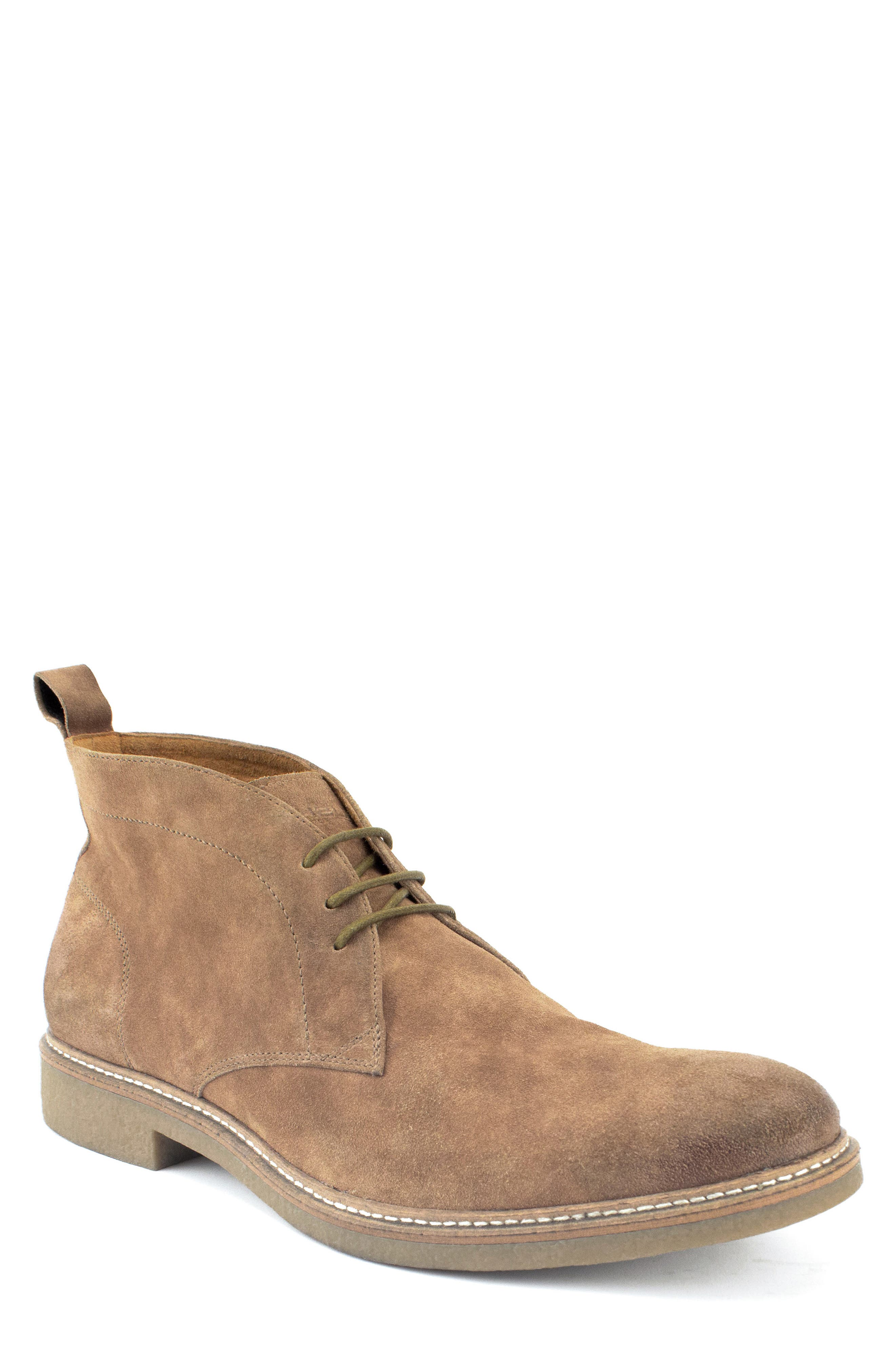 Albert Chukka Boot,                             Main thumbnail 1, color,                             TAN SUEDE