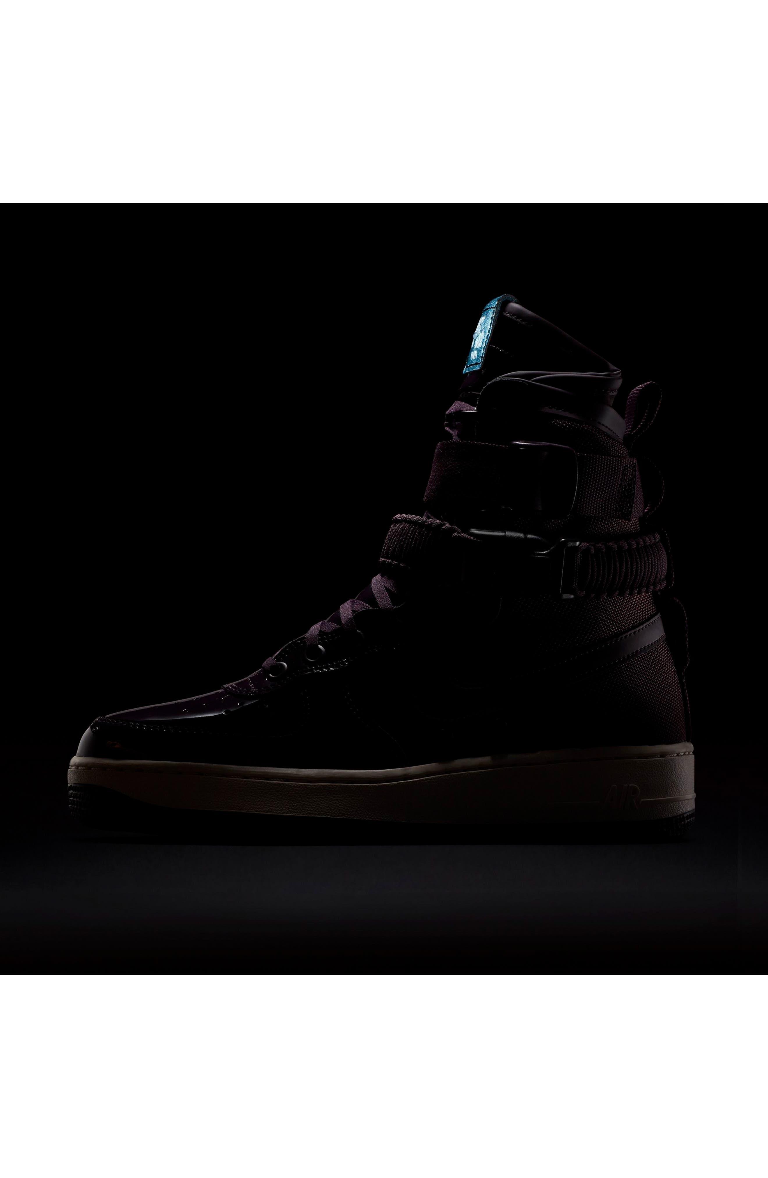 SF Air Force 1 High Top Sneaker,                             Alternate thumbnail 14, color,