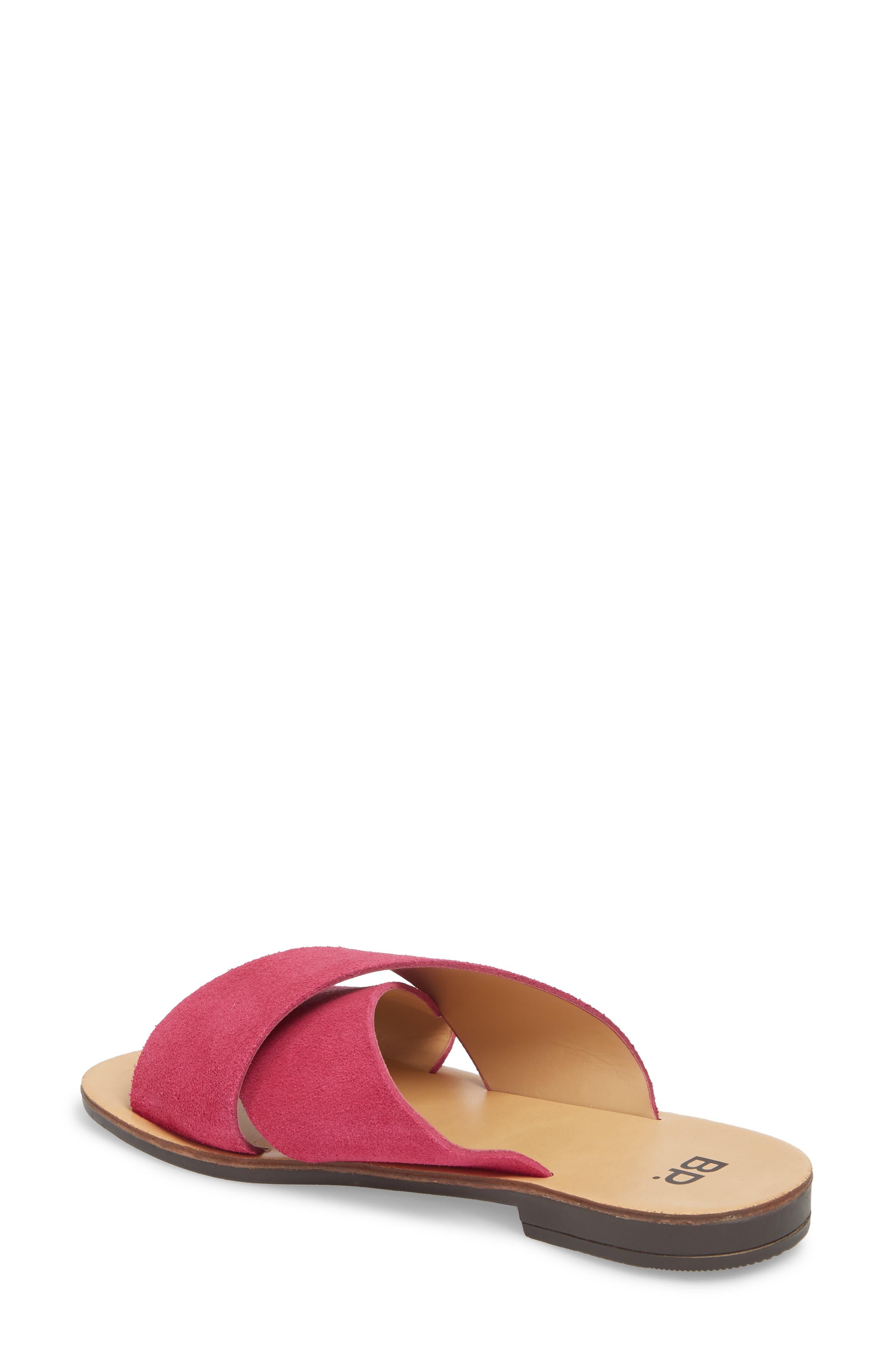 Twist Cross Strap Sandal,                             Alternate thumbnail 18, color,