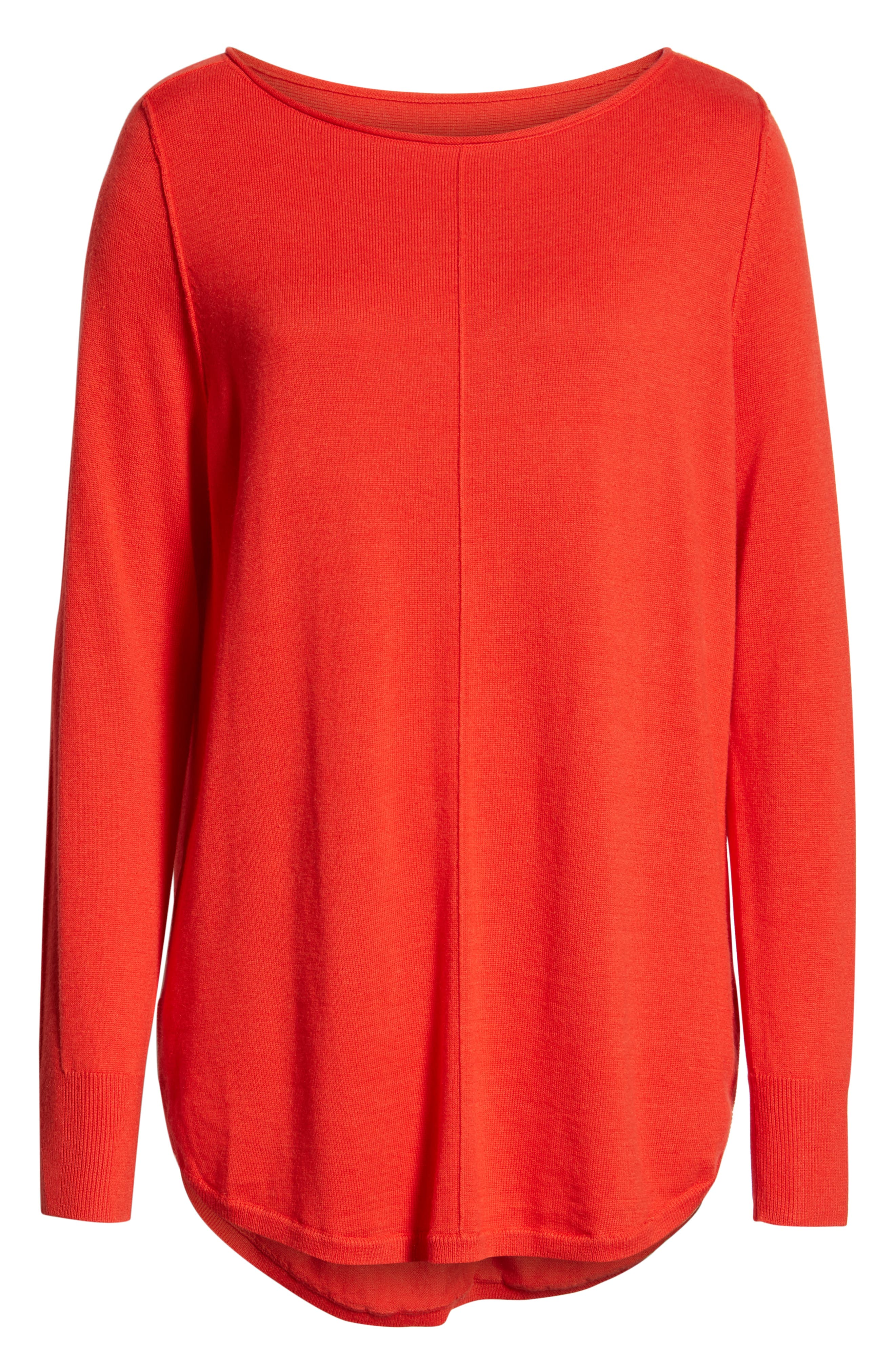 CASLON<SUP>®</SUP>,                             Seam Detail Shirttail Tunic,                             Alternate thumbnail 6, color,                             610