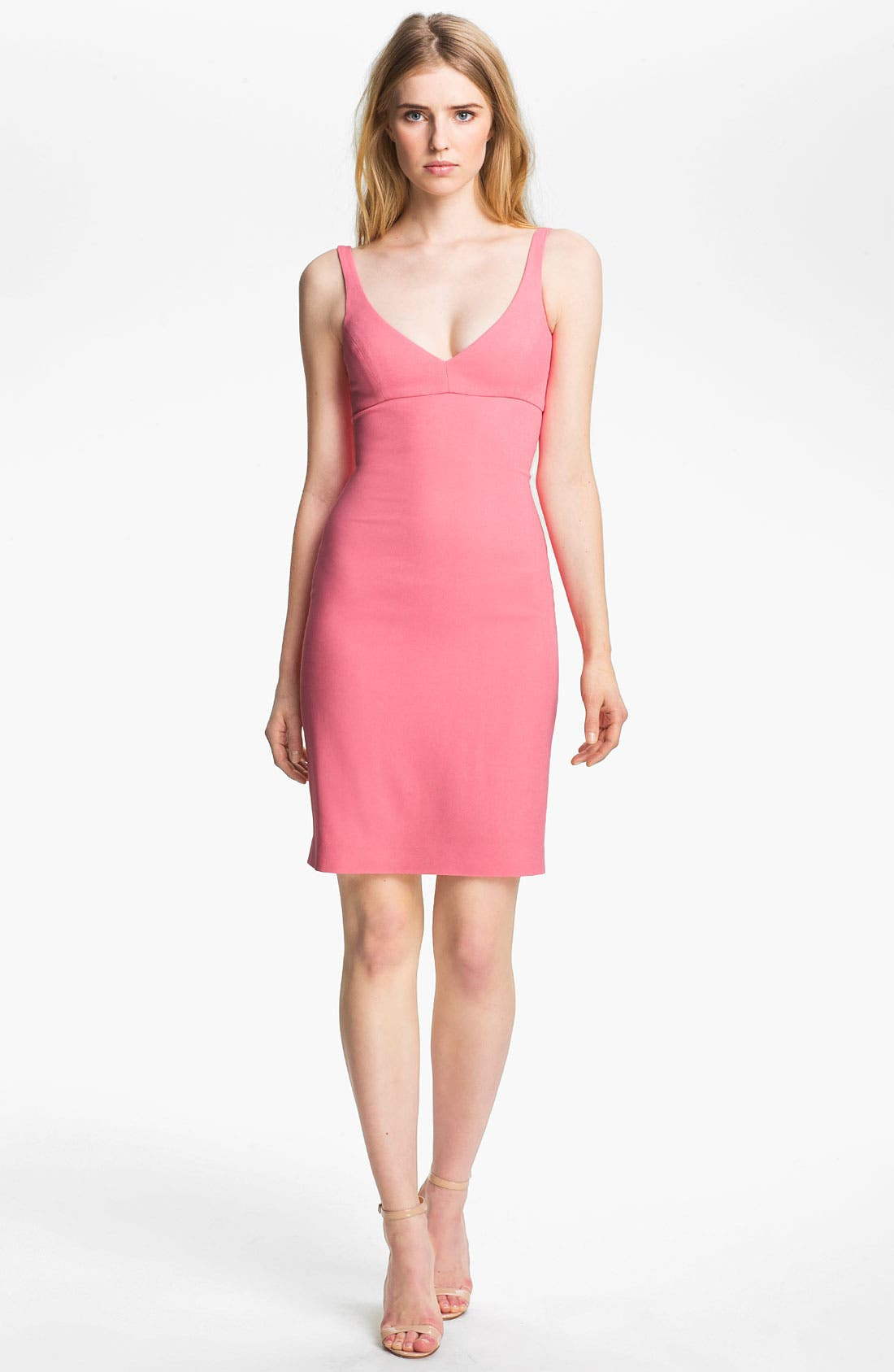 L'AGENCE,                             Fitted Tank Dress,                             Main thumbnail 1, color,                             650