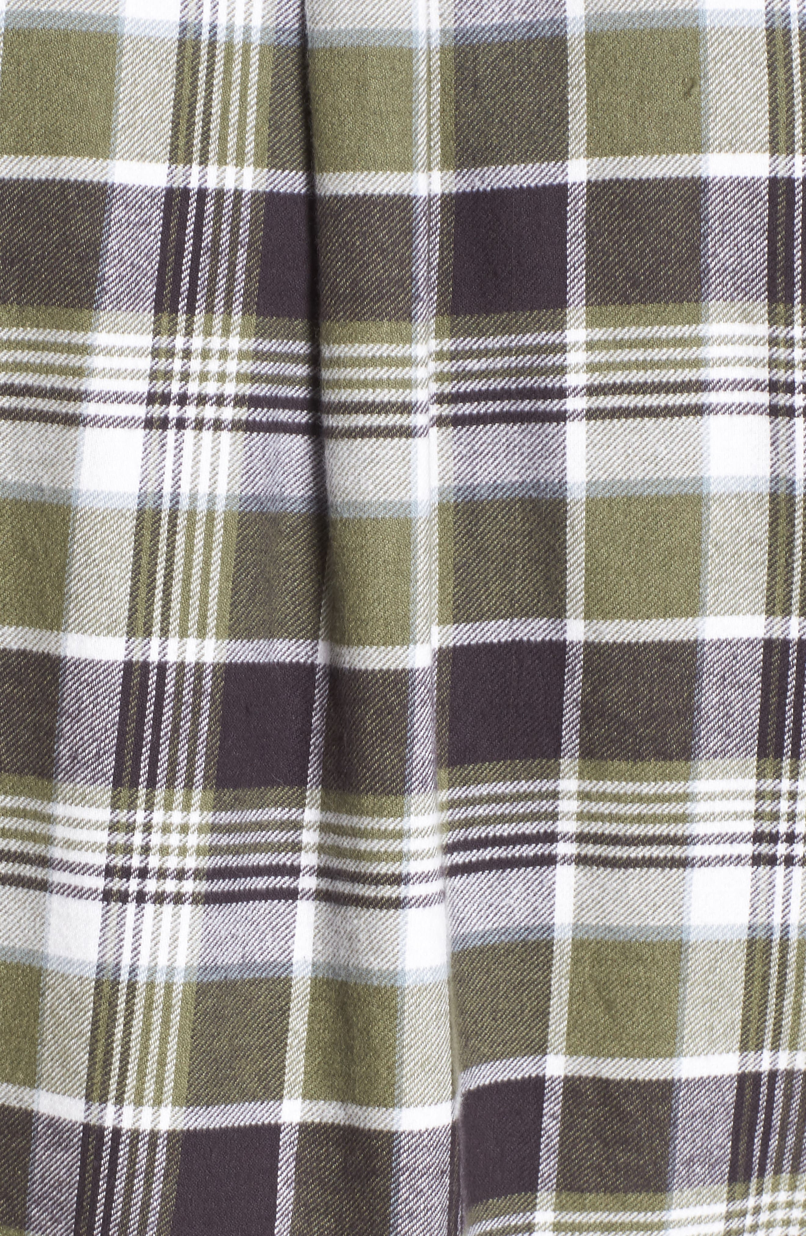 Redmond Regular Fit Plaid Flannel Shirt,                             Alternate thumbnail 5, color,                             301