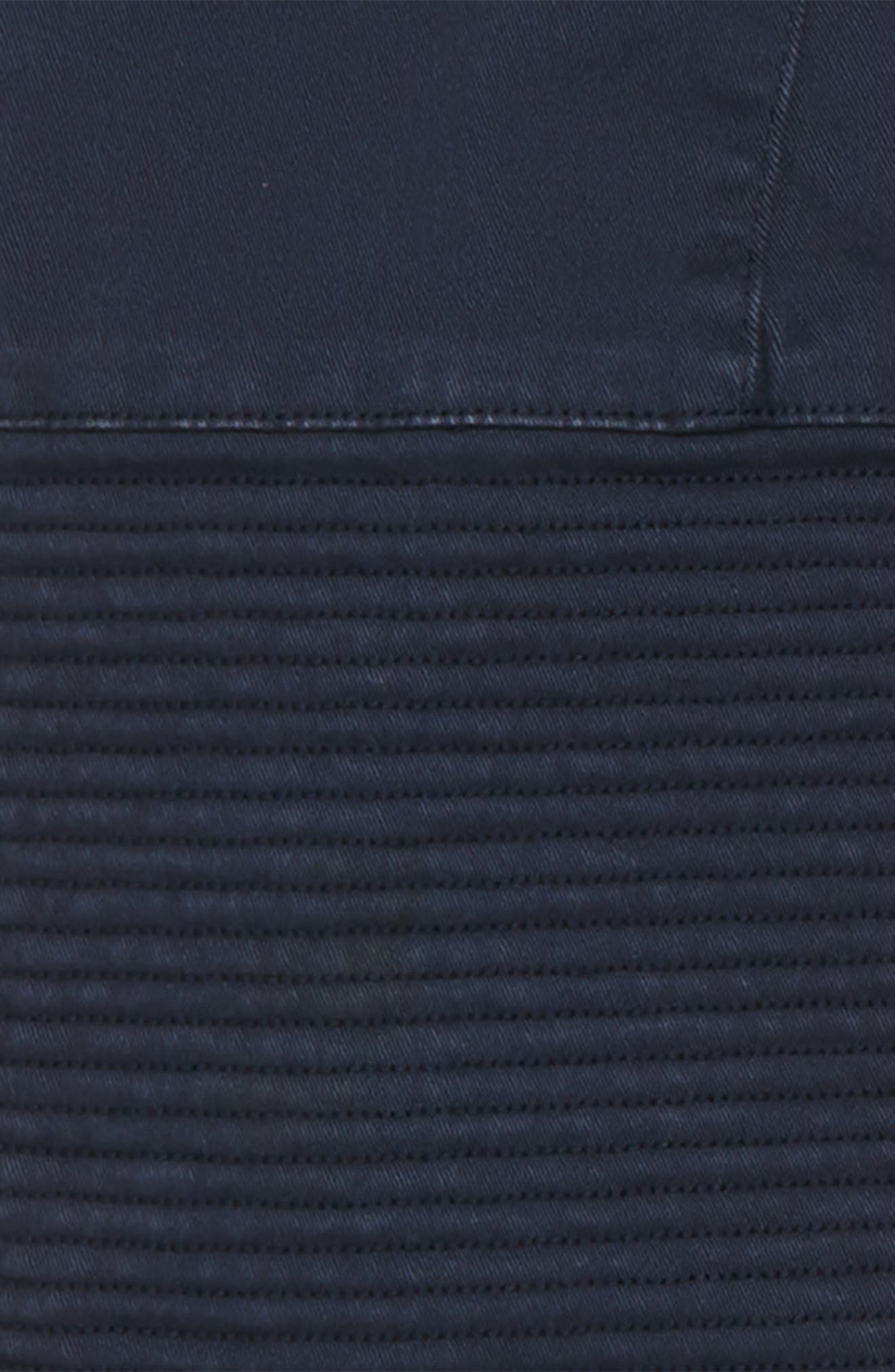 Moto Jogger Pants,                             Alternate thumbnail 3, color,                             NAVY INDIA INK