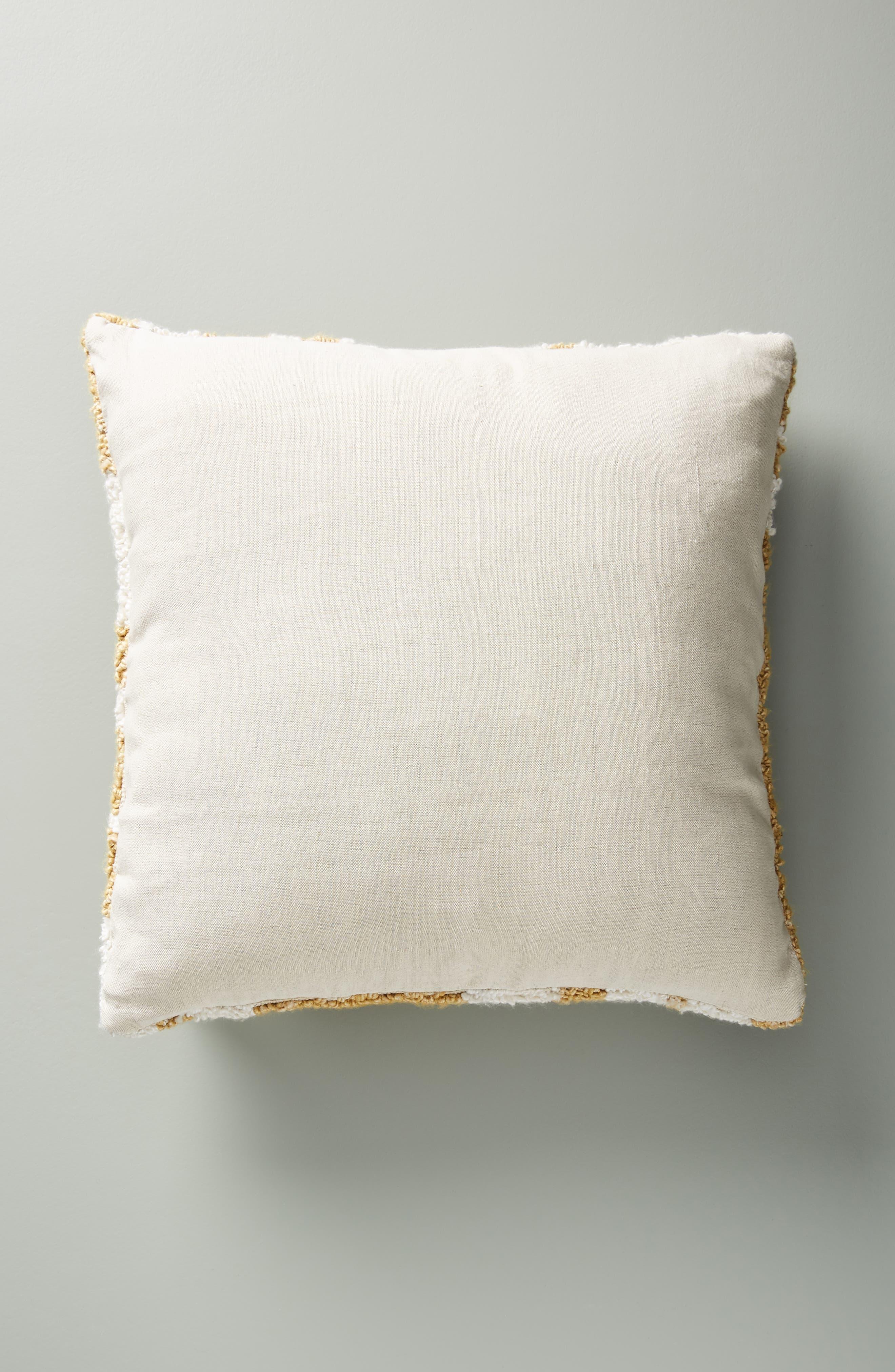 ANTHROPOLOGIE,                             Jordana Accent Pillow,                             Alternate thumbnail 2, color,                             OCHRE