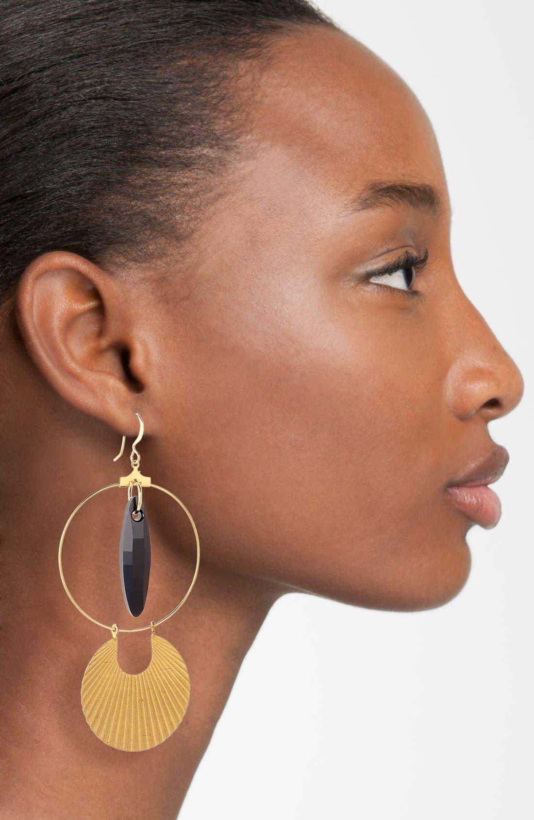 Hoop Earrings,                             Alternate thumbnail 2, color,                             710