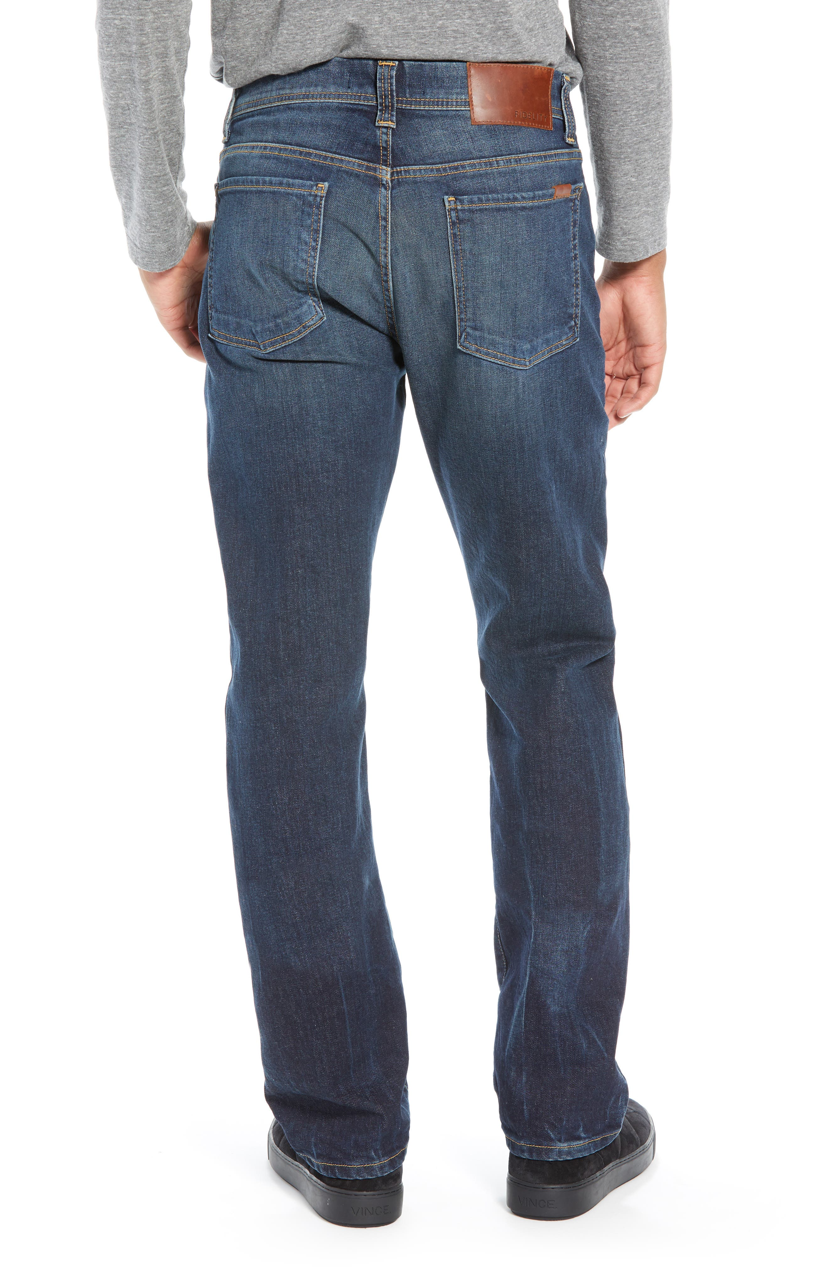 Jimmy Slim Straight Leg Jeans,                             Alternate thumbnail 2, color,                             NIAGARA