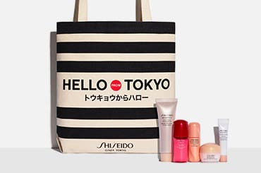 Choose your Shiseido gift with purchase.