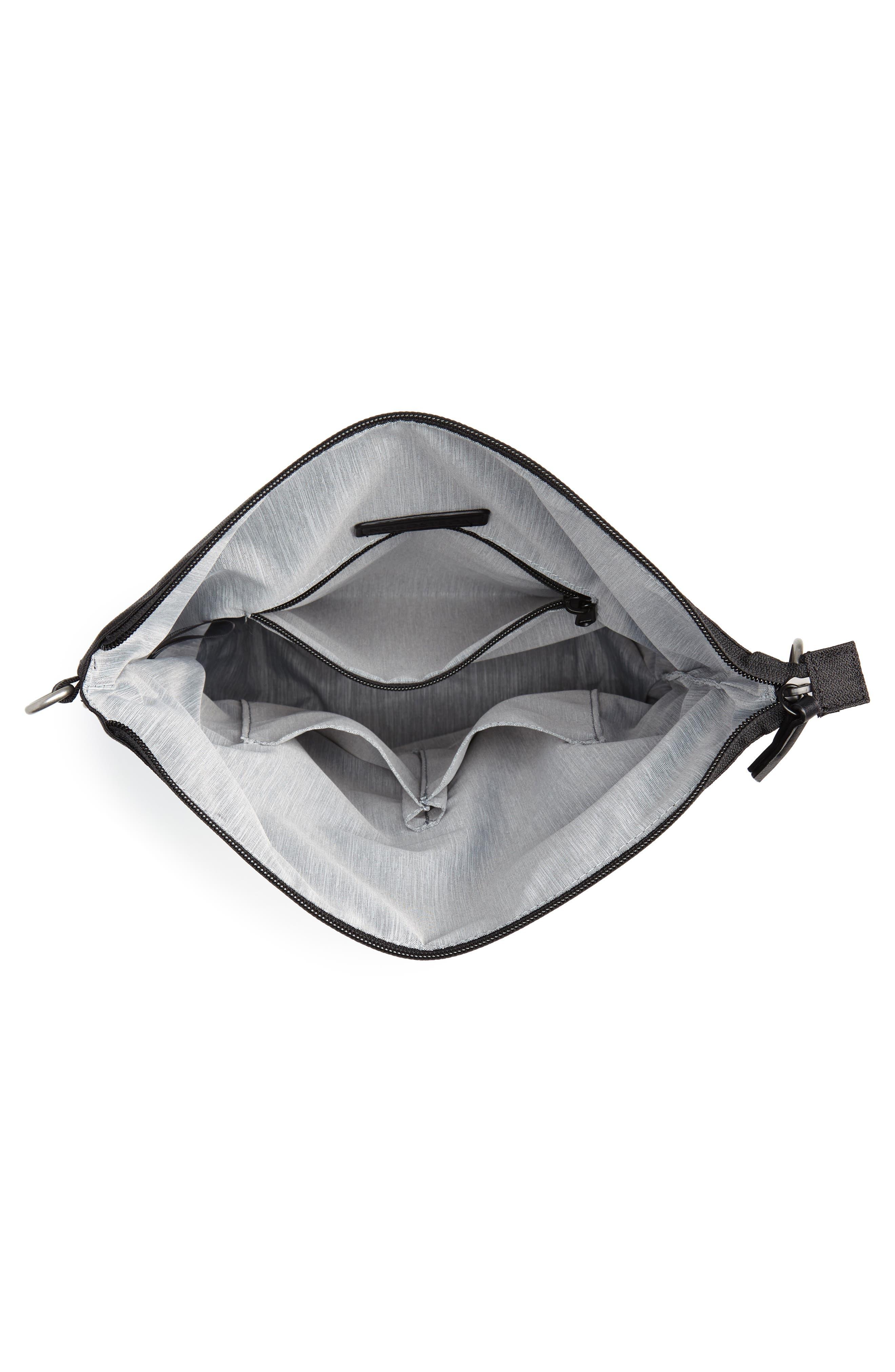 Vale RFID Crossbody Bag,                             Alternate thumbnail 5, color,                             BLACK/ BLACK