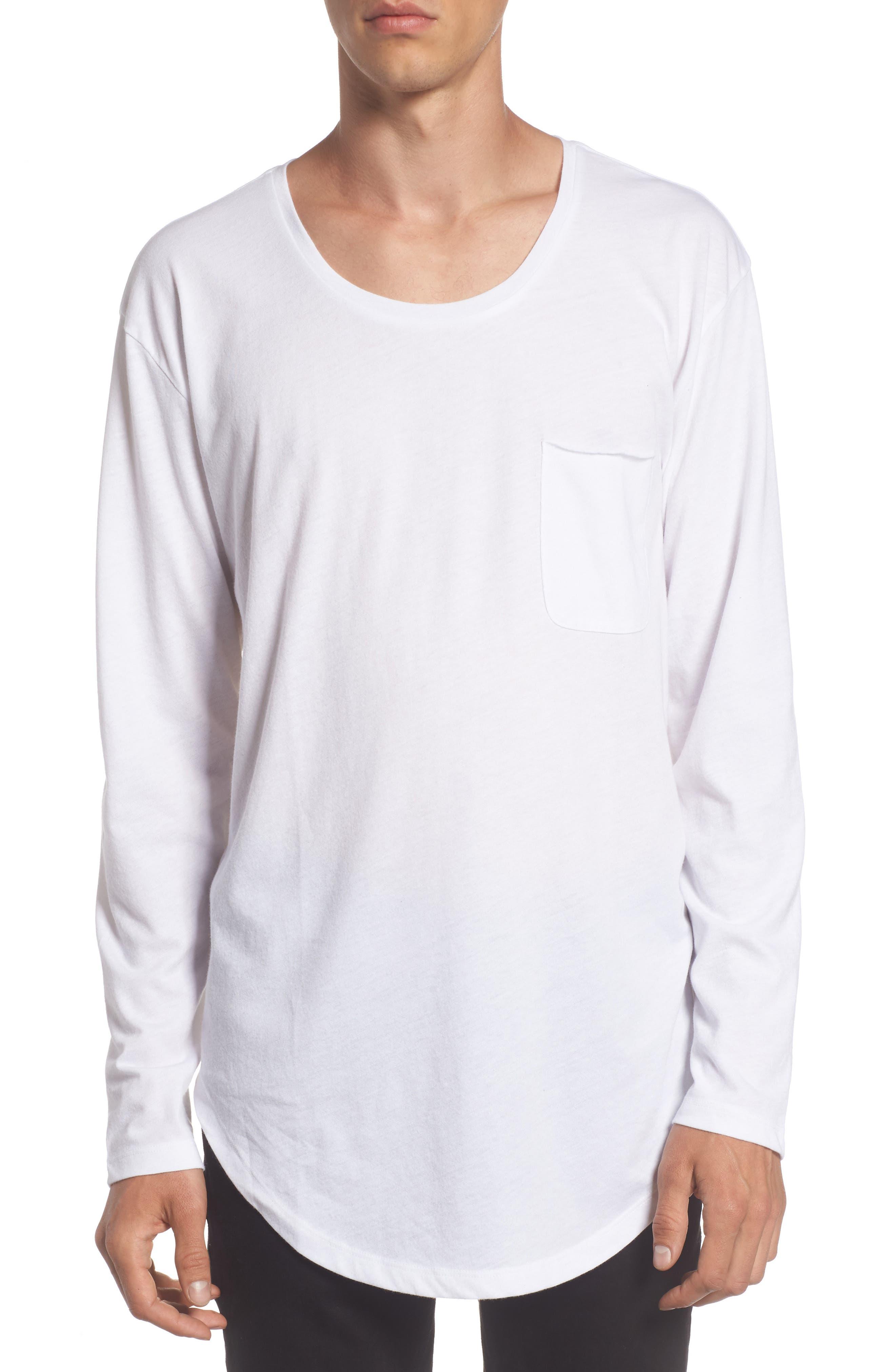 Shirttail T-Shirt,                             Main thumbnail 2, color,