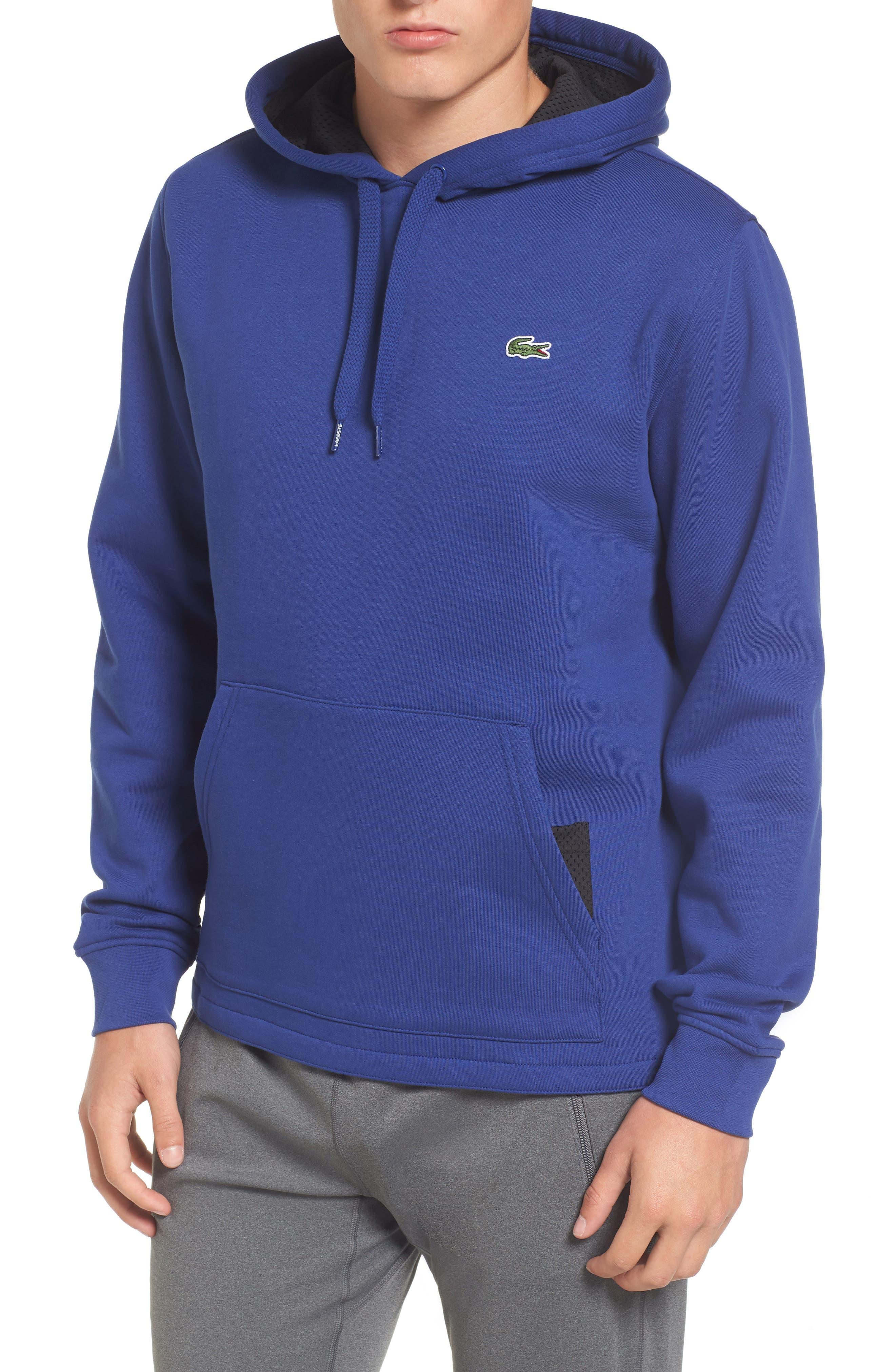 Brushed Fleece Logo Hoodie,                             Main thumbnail 2, color,