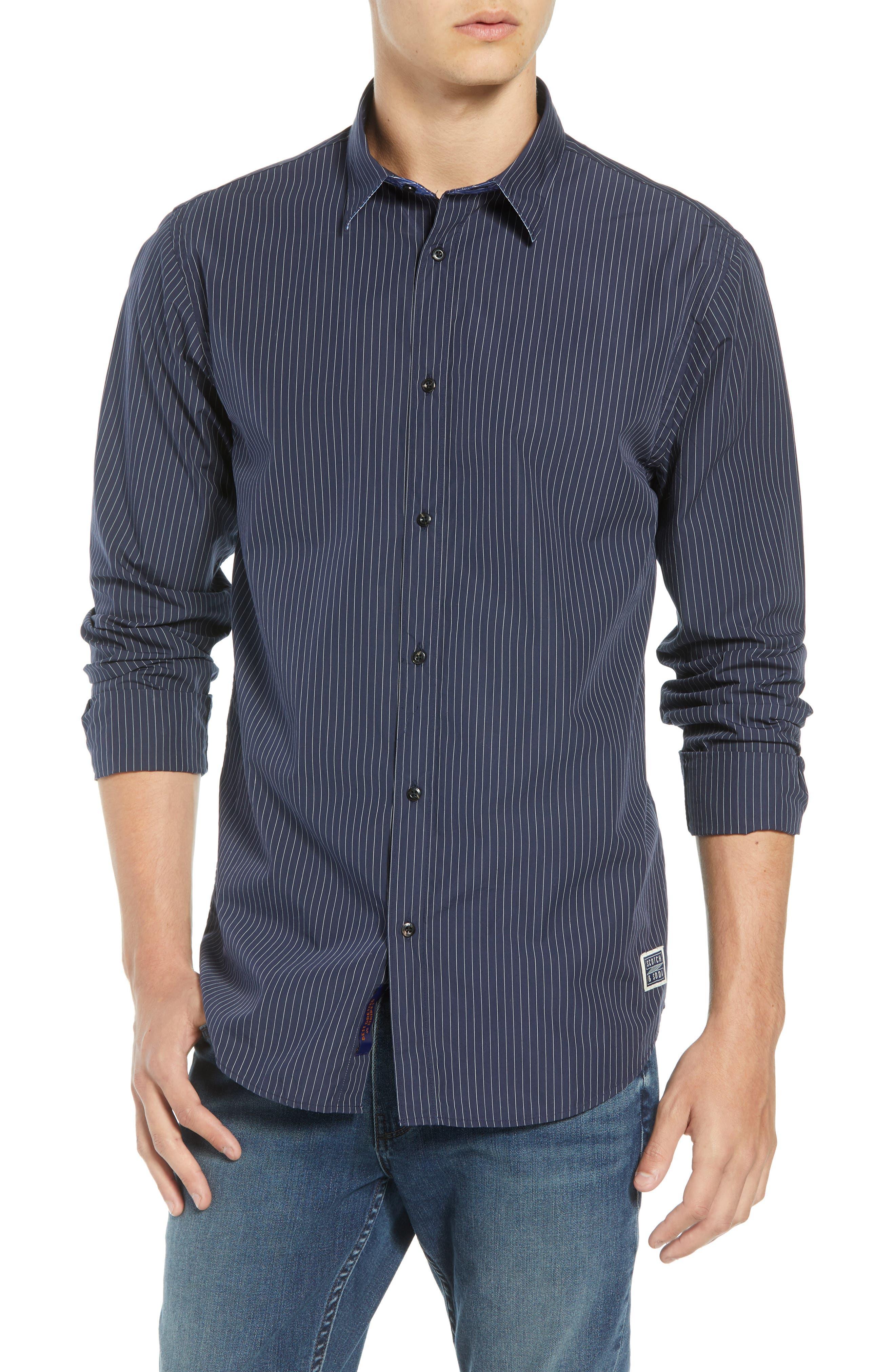 Regular Fit Sport Shirt,                         Main,                         color, COMBO D