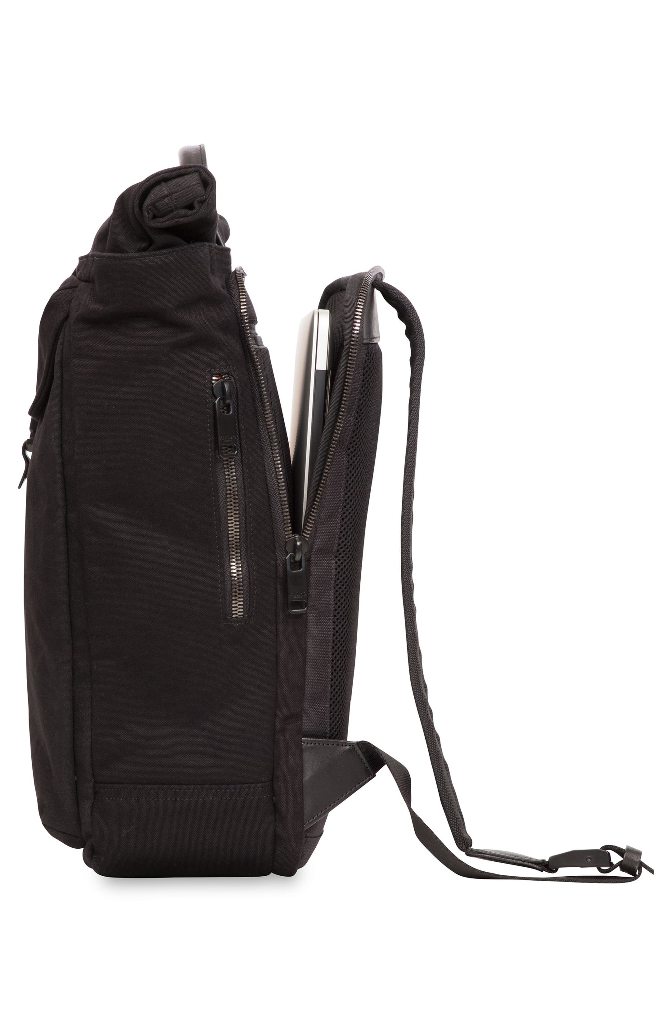 Fulham Novello Backpack,                             Alternate thumbnail 7, color,                             BLACK
