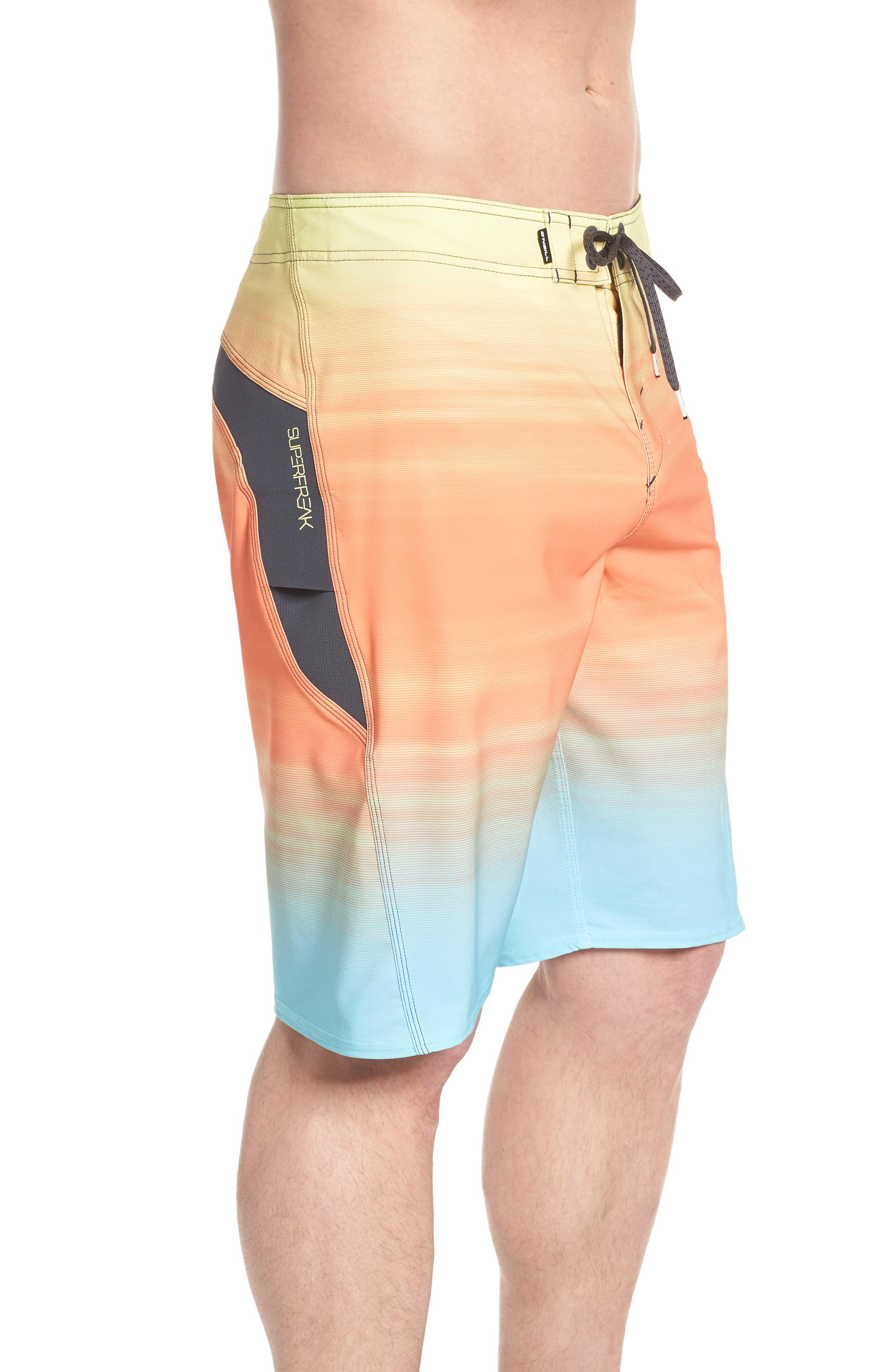 Superfreak Mysto Board Shorts,                             Alternate thumbnail 3, color,                             MULTI