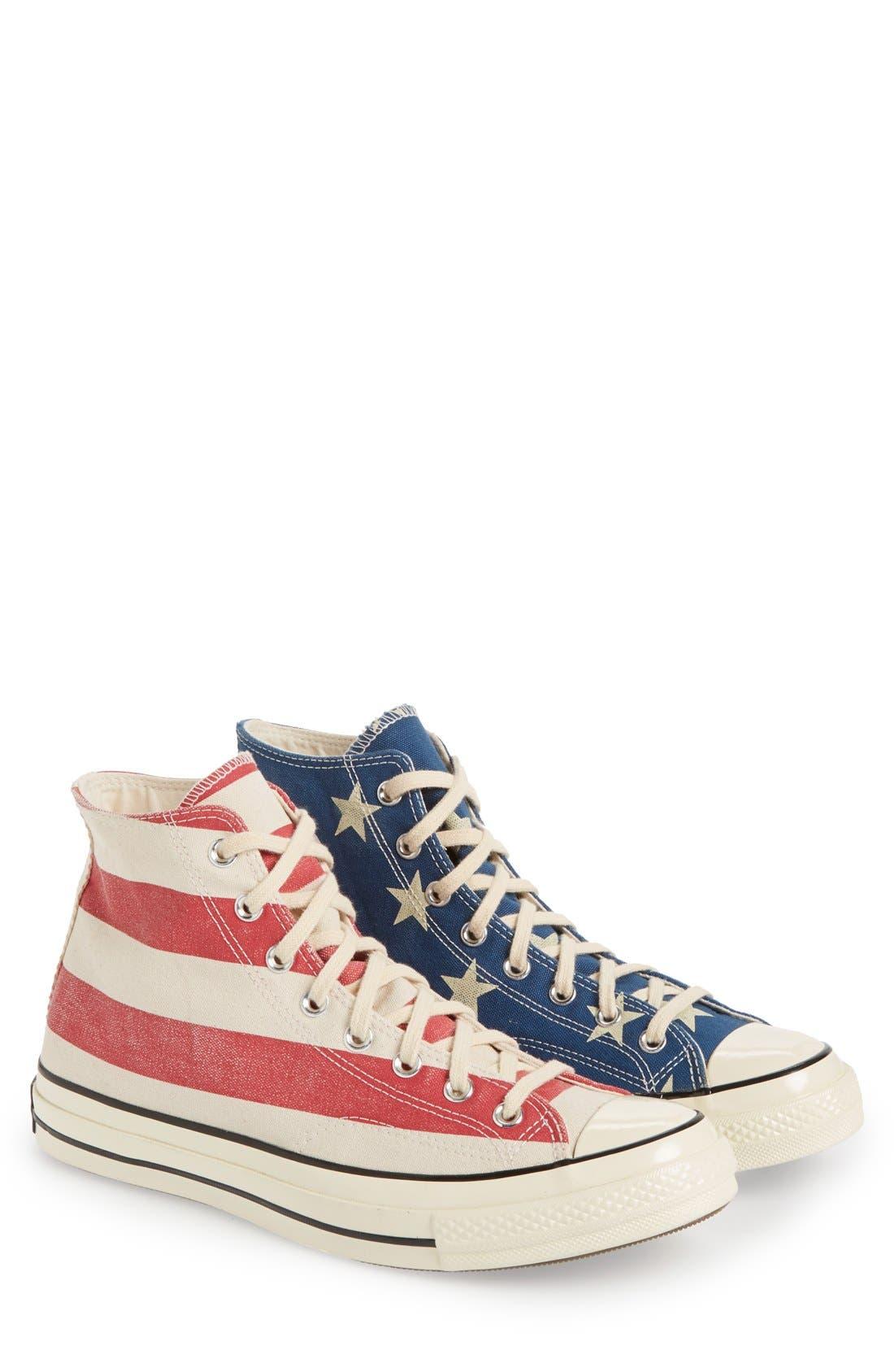 Chuck Taylor<sup>®</sup> All Star<sup>®</sup> '70 American Flag' Sneaker,                             Main thumbnail 1, color,                             604