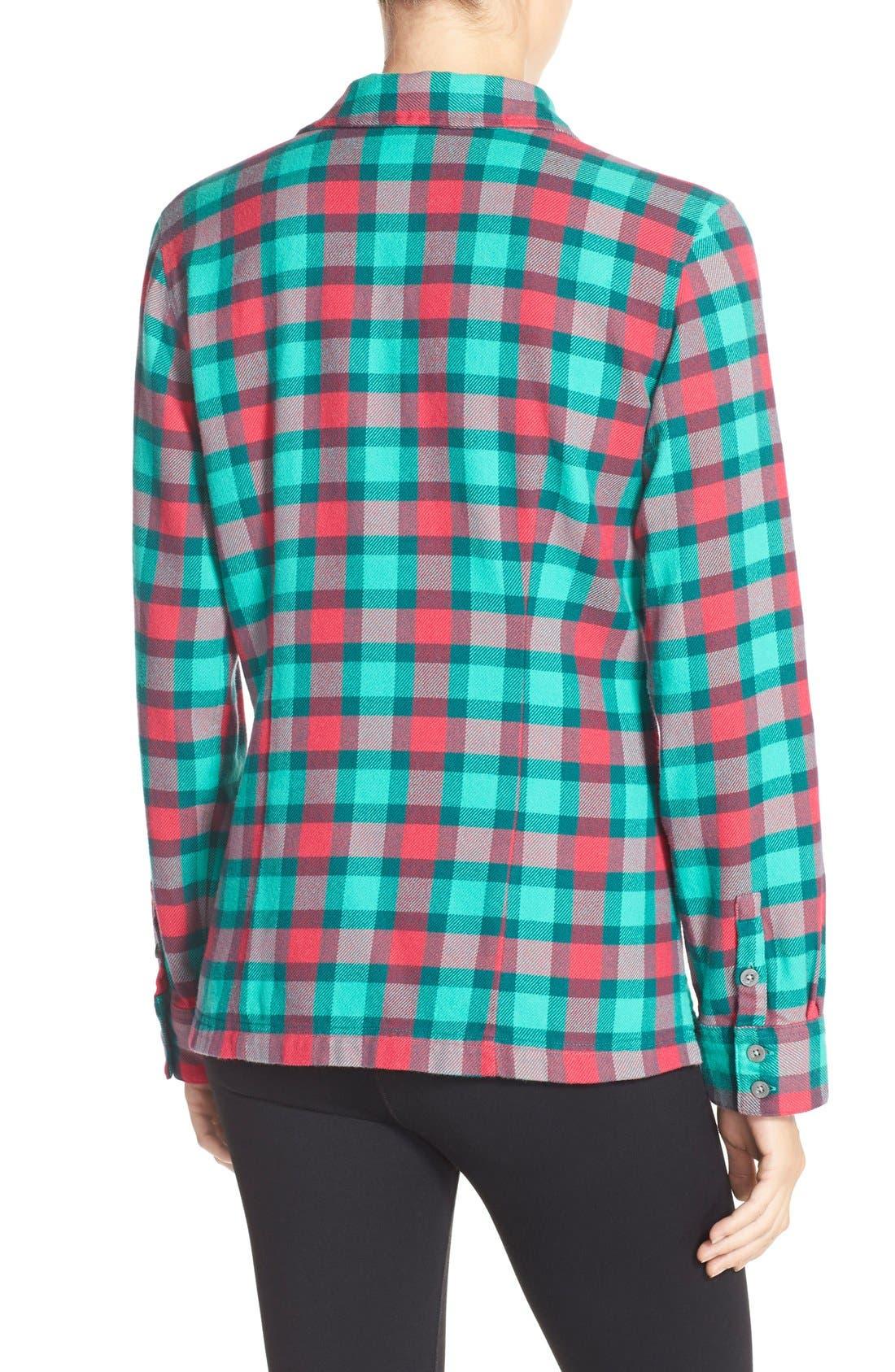 'Fjord' Flannel Shirt,                             Alternate thumbnail 90, color,