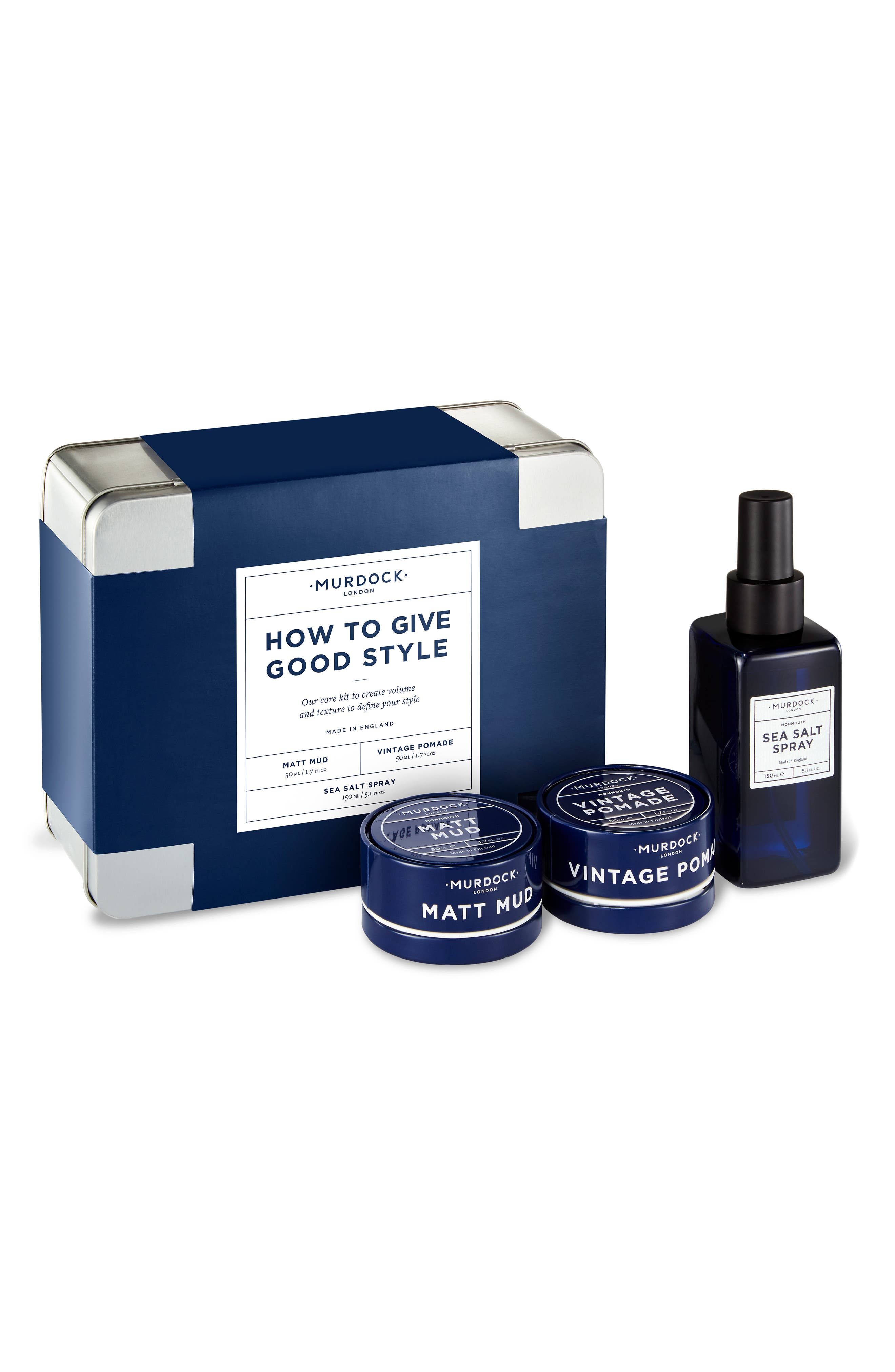 MURDOCK LONDON,                             How to Give Good Style Set,                             Main thumbnail 1, color,                             000