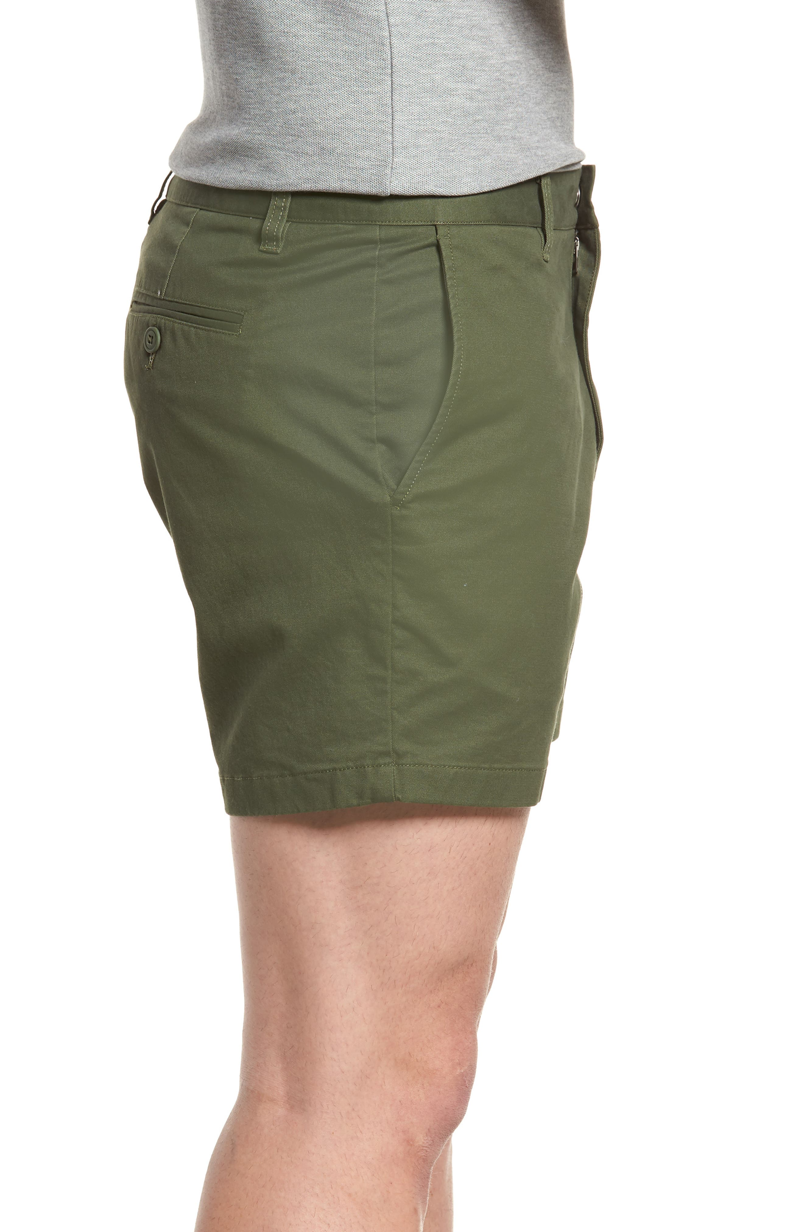 Stretch Washed Chino 5-Inch Shorts,                             Alternate thumbnail 61, color,
