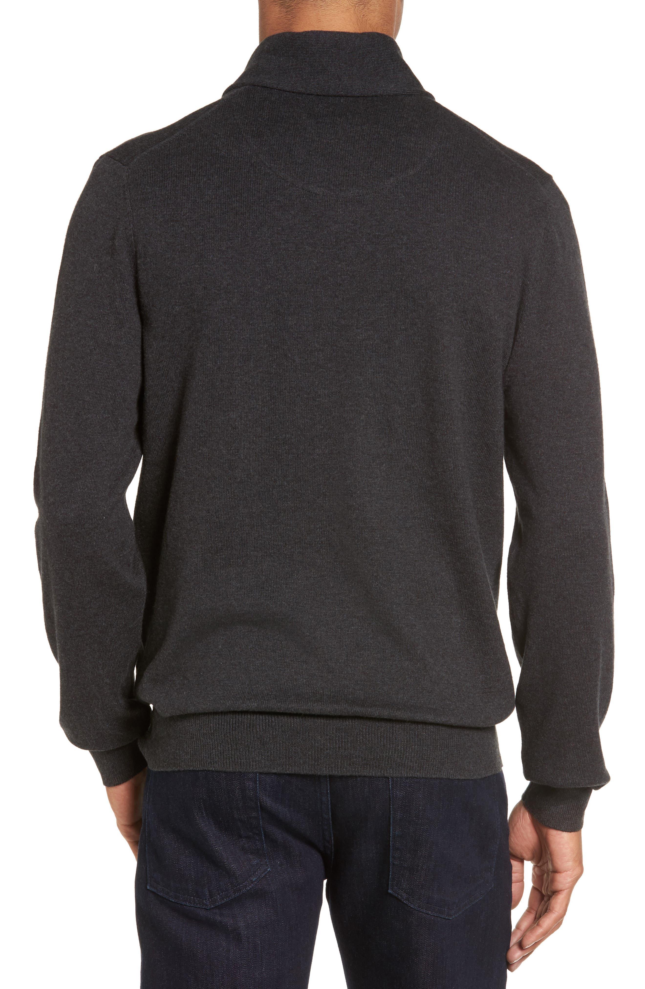 Men's Shop Shawl Collar Sweater,                             Alternate thumbnail 9, color,