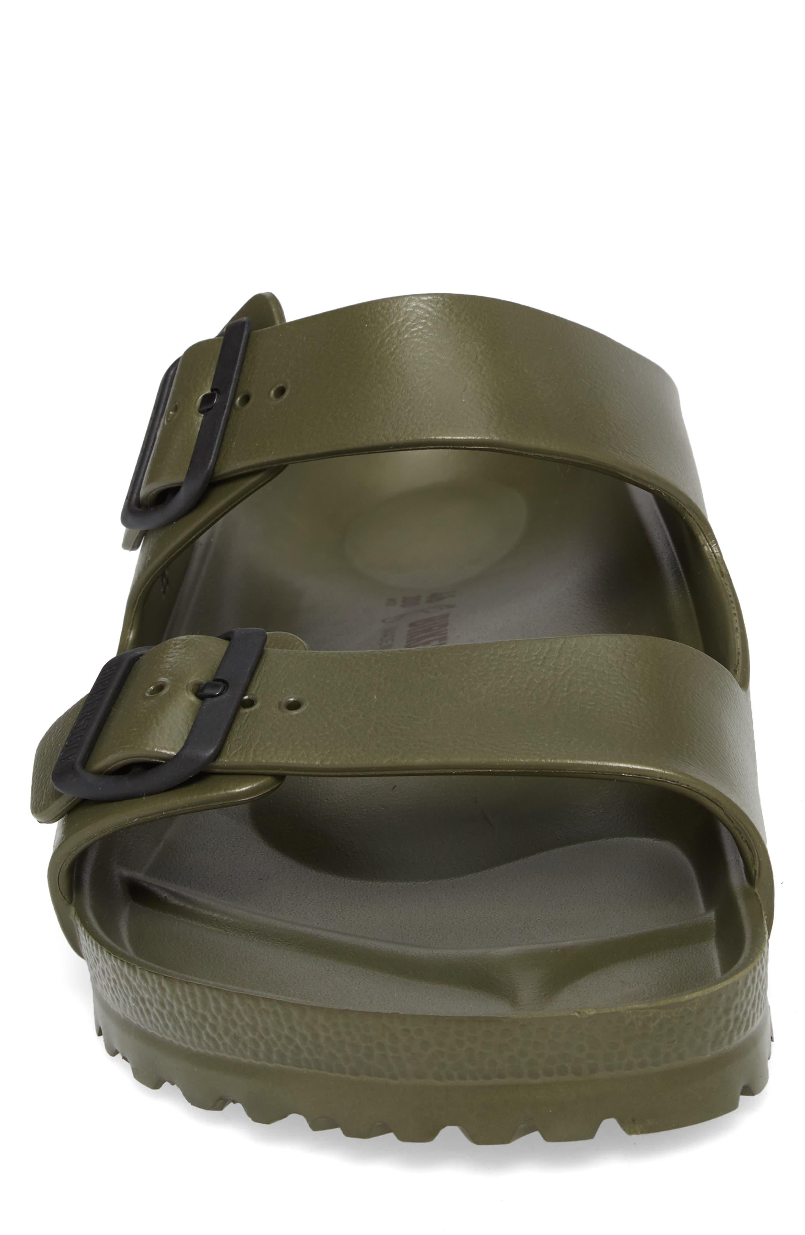 'Essentials - Arizona EVA' Waterproof Slide Sandal,                             Alternate thumbnail 5, color,                             GREEN