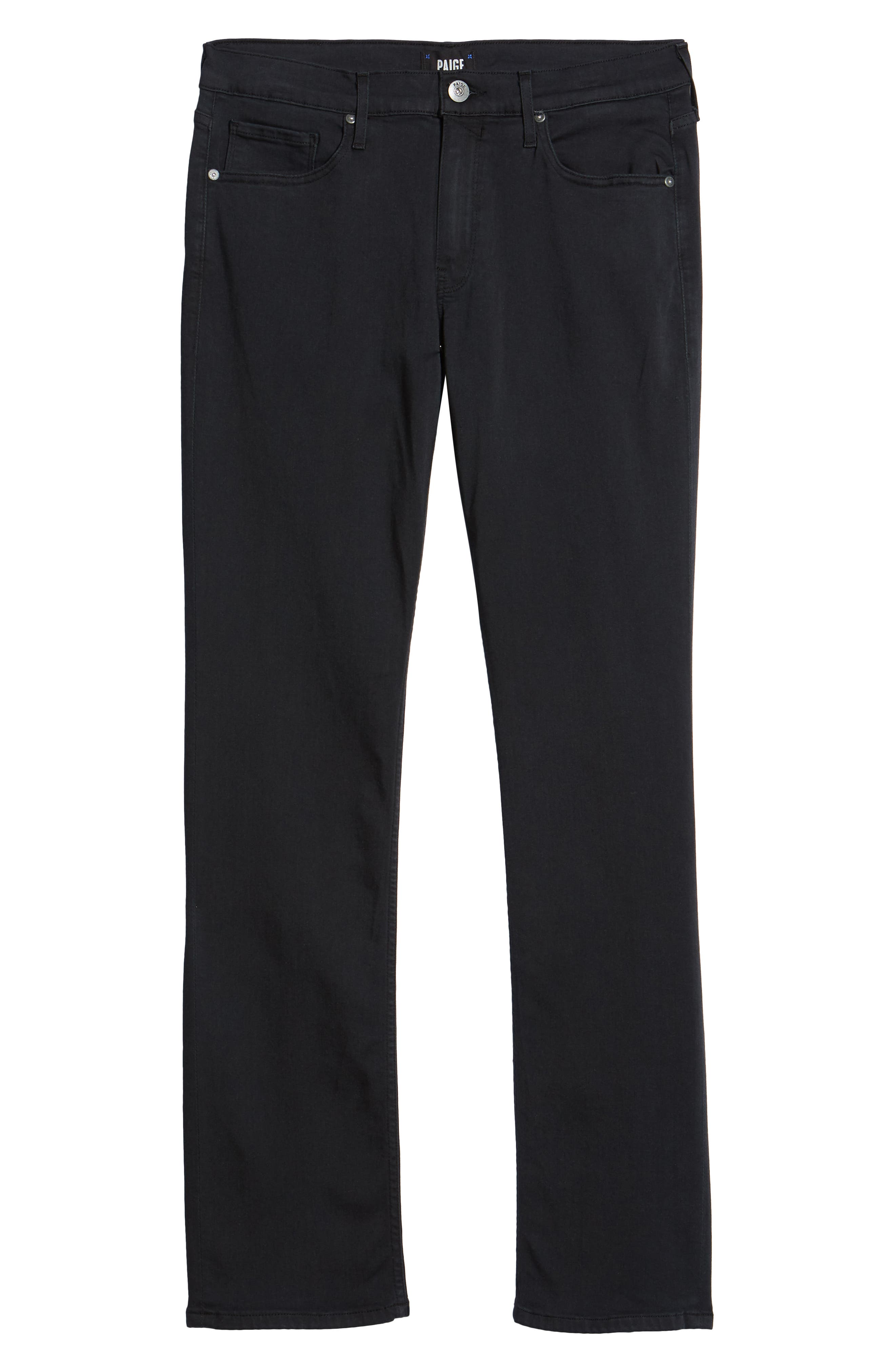 PAIGE,                             Normandie Straight Leg Jeans,                             Alternate thumbnail 6, color,                             400