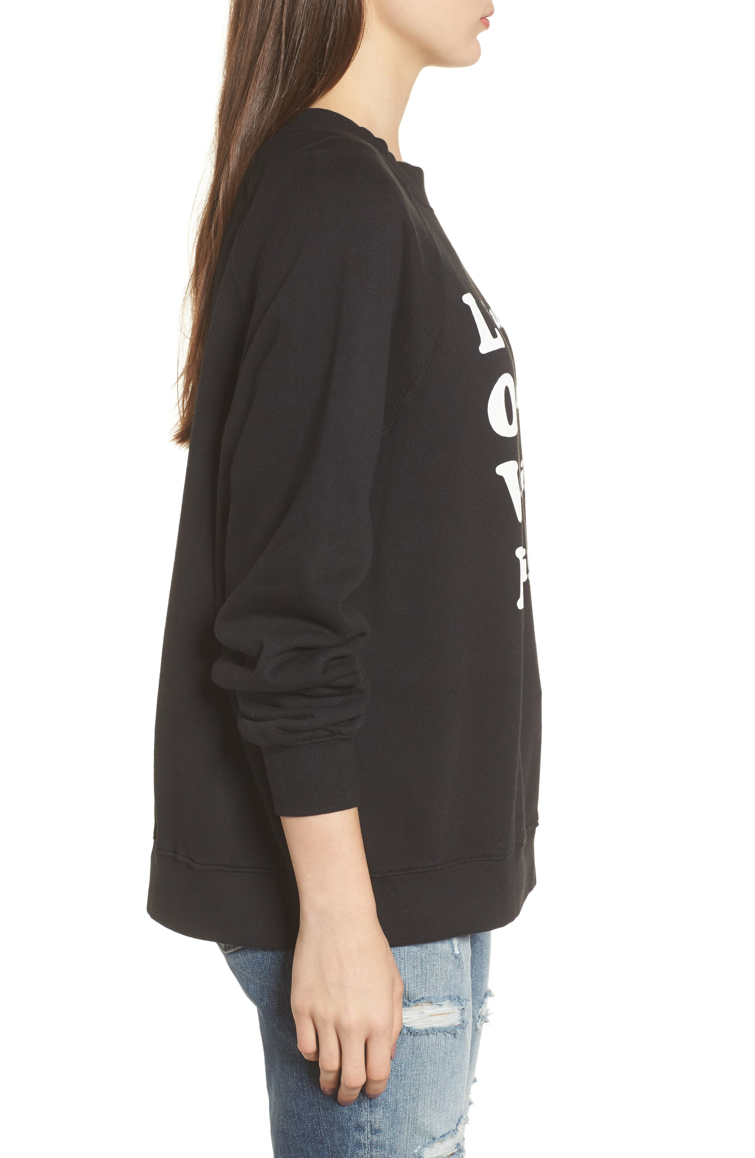 Wino - Sommers Sweatshirt,                             Alternate thumbnail 3, color,                             001
