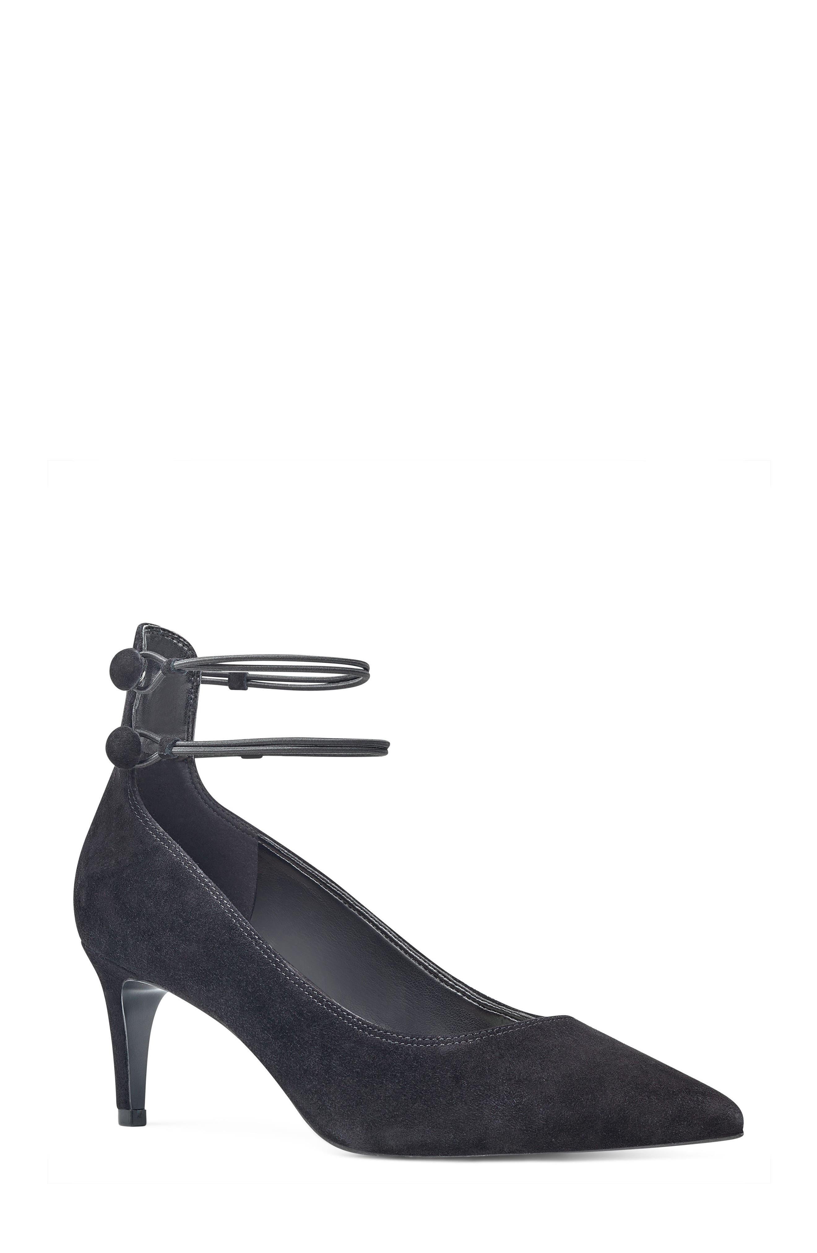 Sawtelle Double Ankle Strap Pump,                             Main thumbnail 1, color,                             001